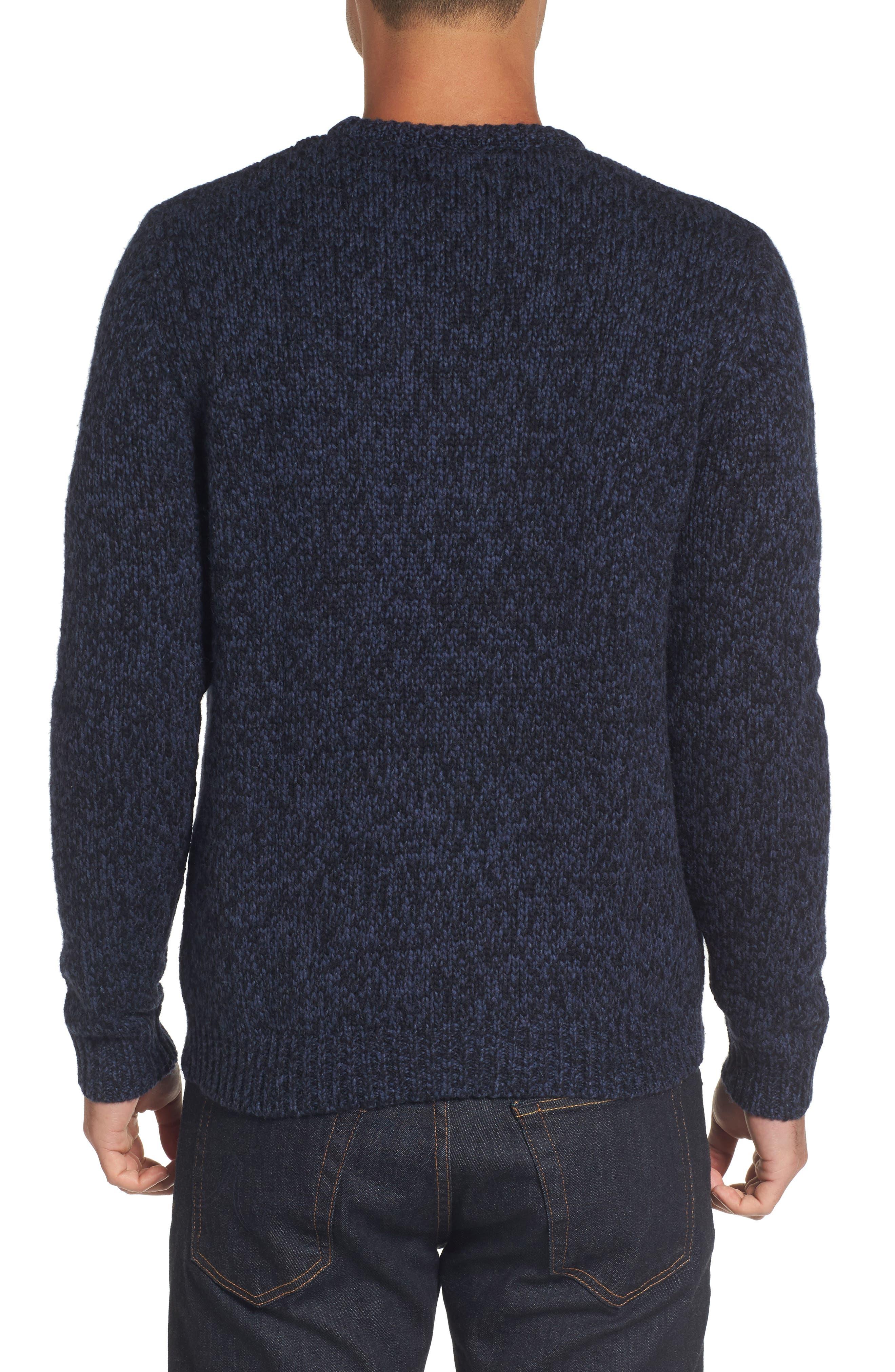 Marled Yarn Sweater,                             Alternate thumbnail 4, color,