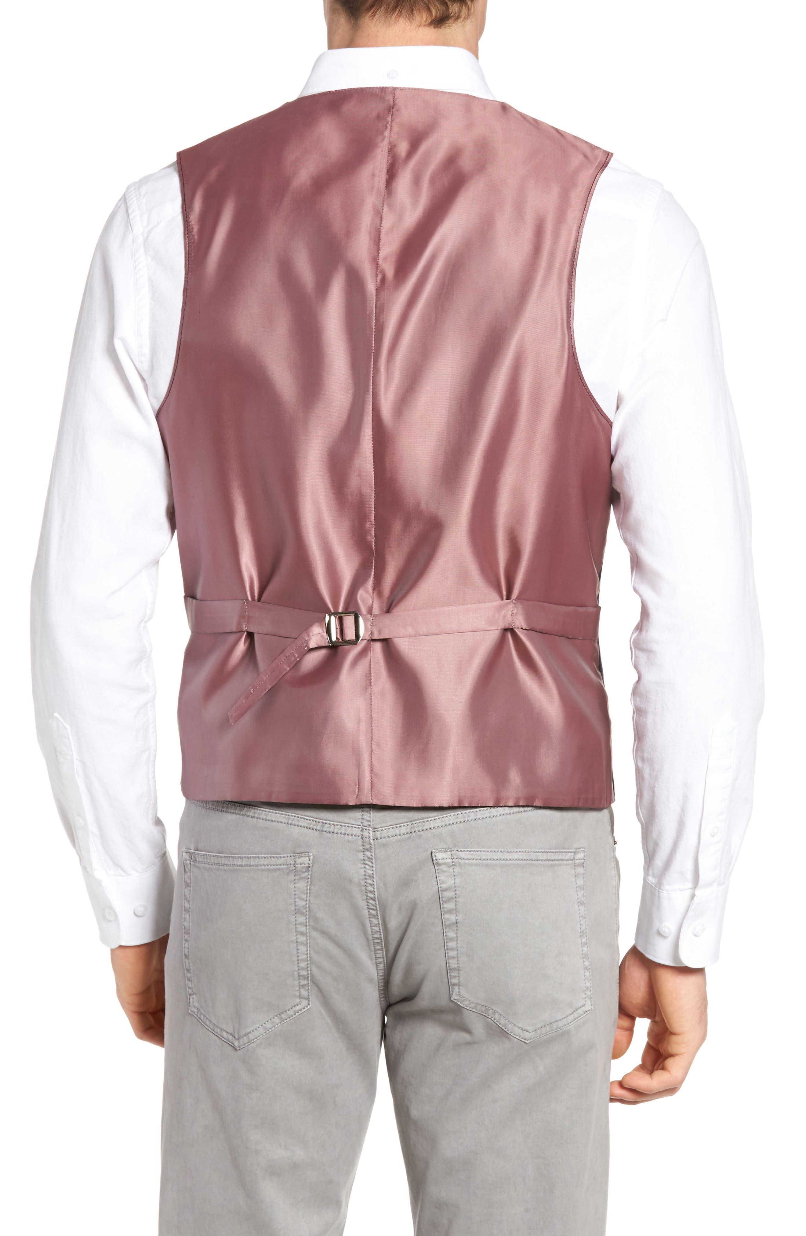 Hootie Solid Cotton & Linen Vest,                             Alternate thumbnail 2, color,                             410