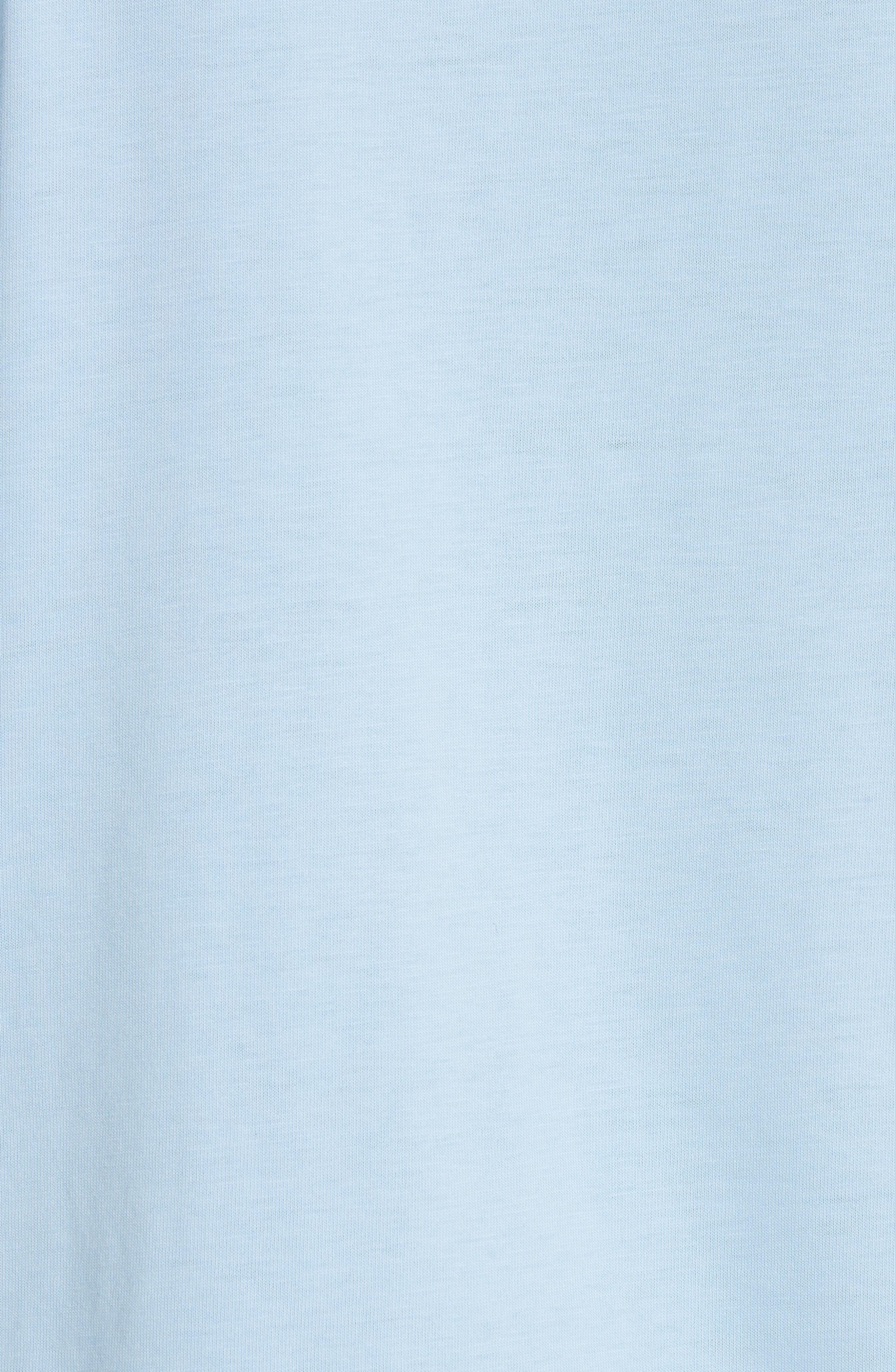 Lace Inset Cotton Top,                             Alternate thumbnail 5, color,