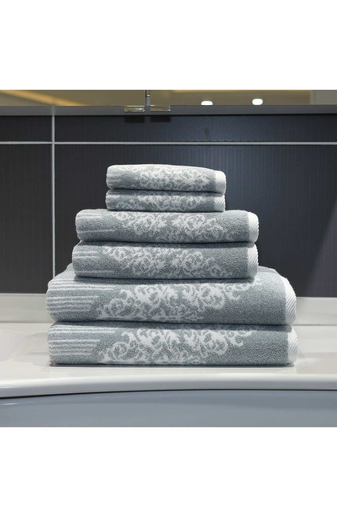 Linum 'Gioia' Bath Towels, Hand Towels & Washcloths,                             Alternate thumbnail 2, color,                             440