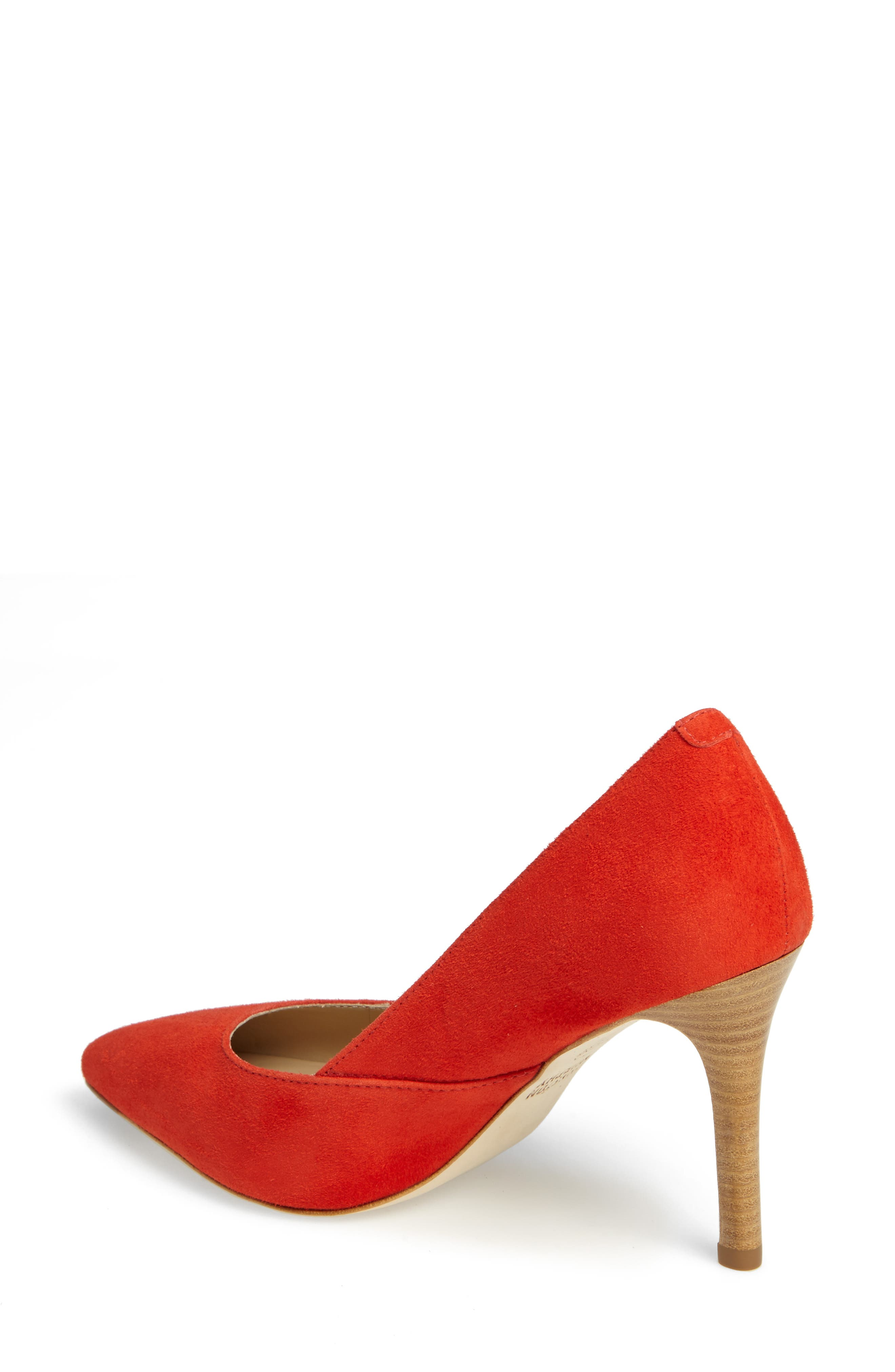 'Vanessa' Pointy Toe Leather Pump,                             Alternate thumbnail 16, color,