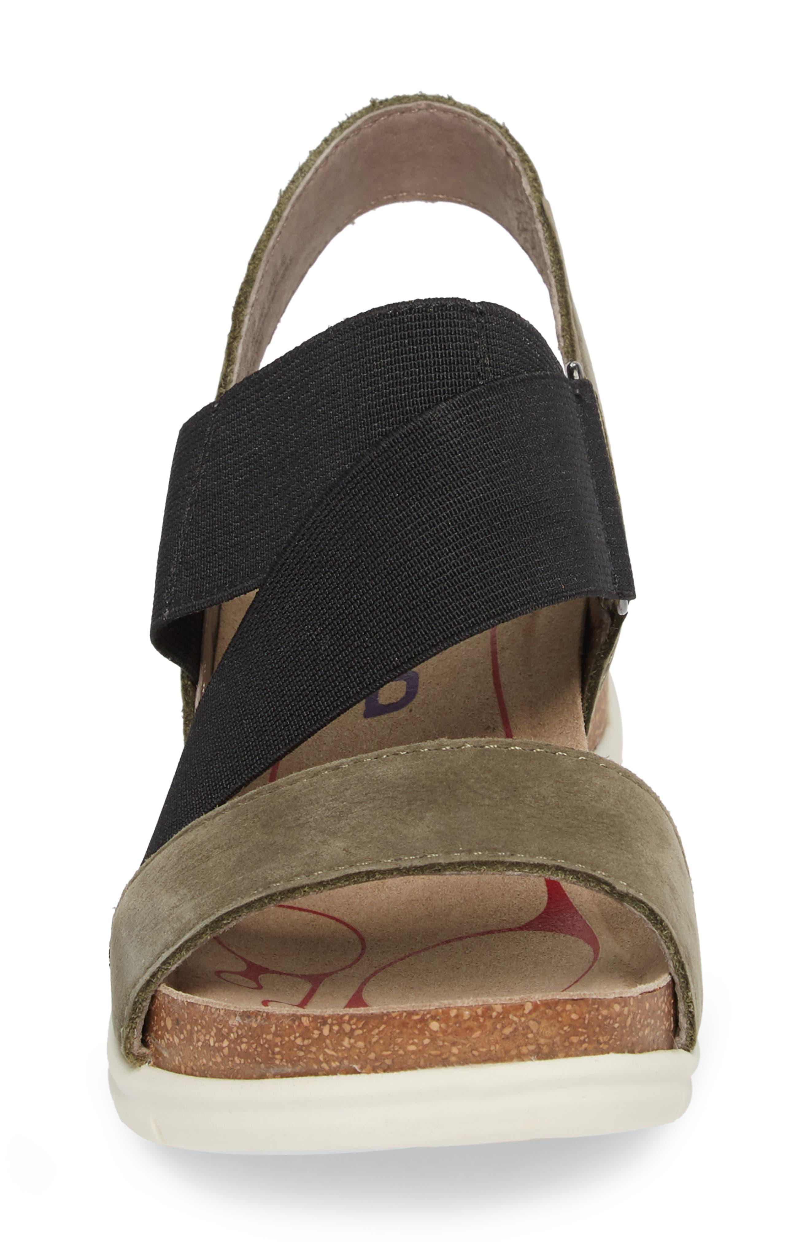 Paisley Wedge Sandal,                             Alternate thumbnail 15, color,