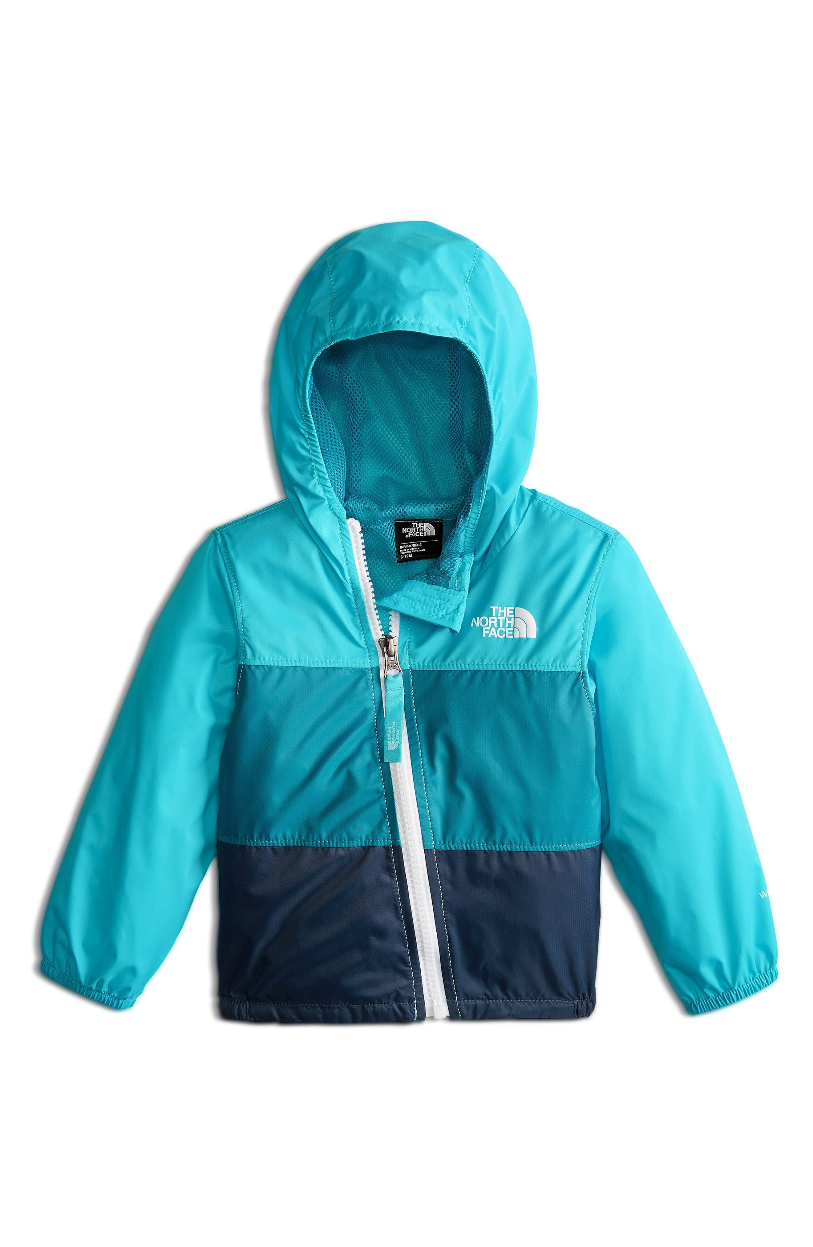 THE NORTH FACE,                             Flurry Hooded Windbreaker,                             Main thumbnail 1, color,                             400