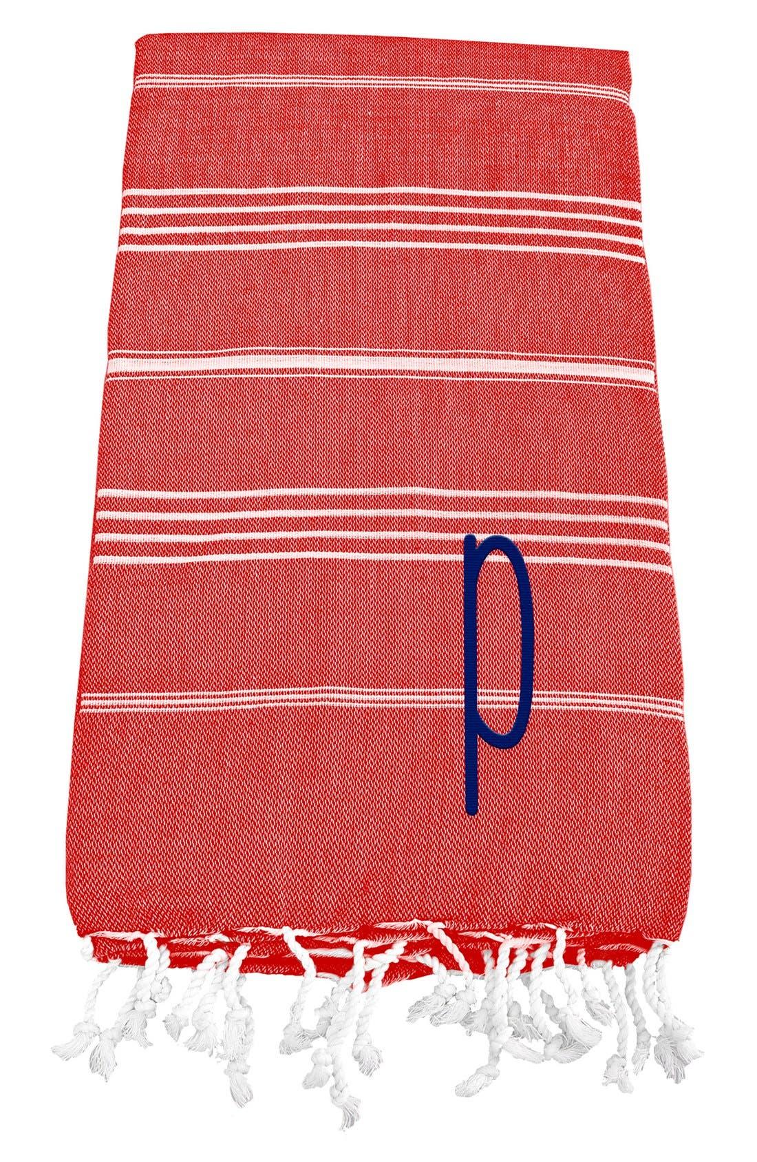 Monogram Turkish Cotton Towel,                             Main thumbnail 125, color,