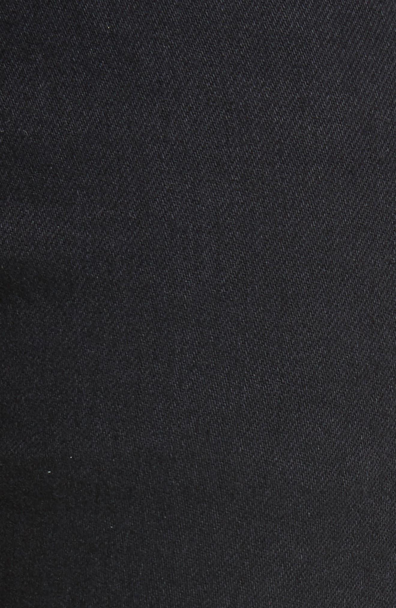Boyd High Rise Jeans,                             Alternate thumbnail 5, color,                             001