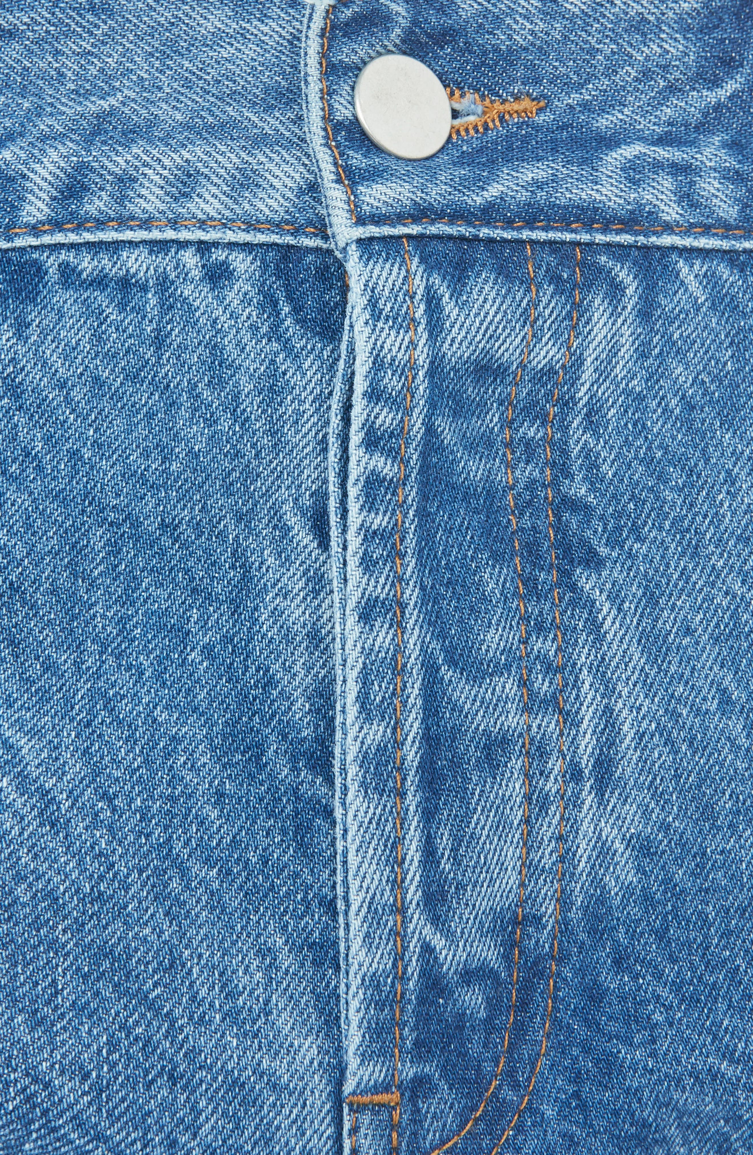 Medium Wash Straight Leg Jeans,                             Main thumbnail 1, color,                             401