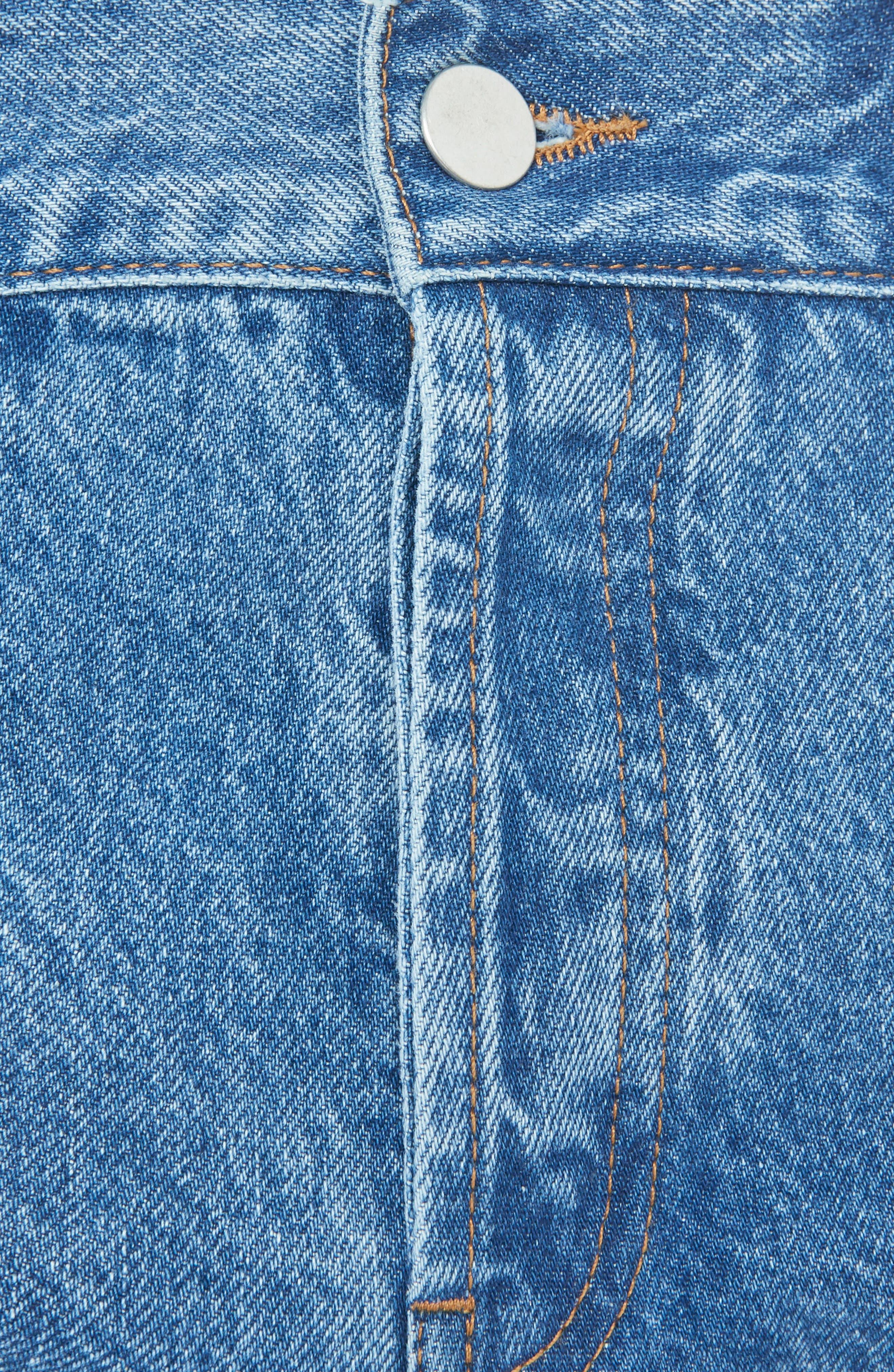 Medium Wash Straight Leg Jeans,                         Main,                         color, 401
