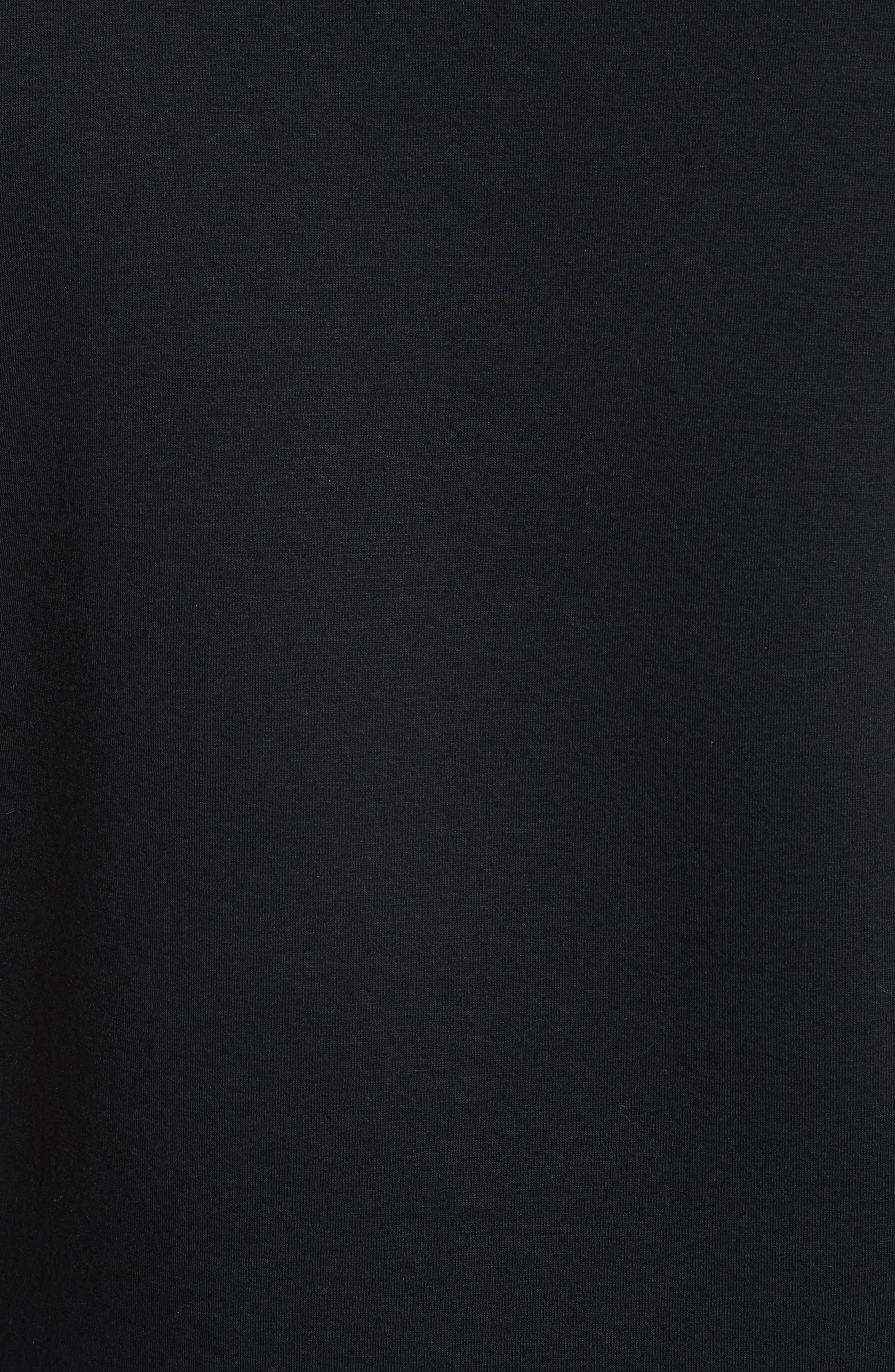 Fleece Sweatshirt,                             Alternate thumbnail 5, color,                             001
