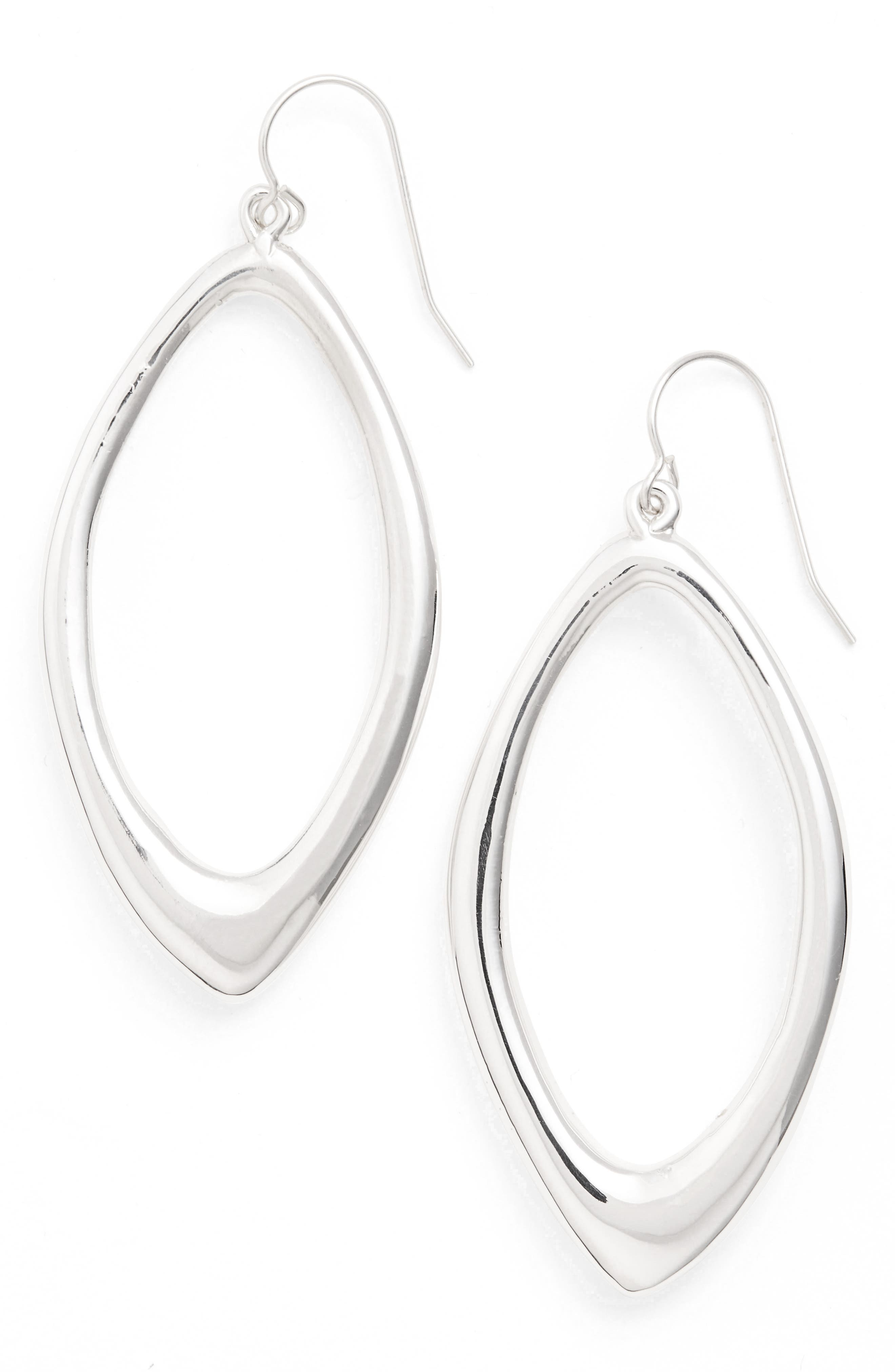 Open Abstract Drop Earrings,                         Main,                         color, 040