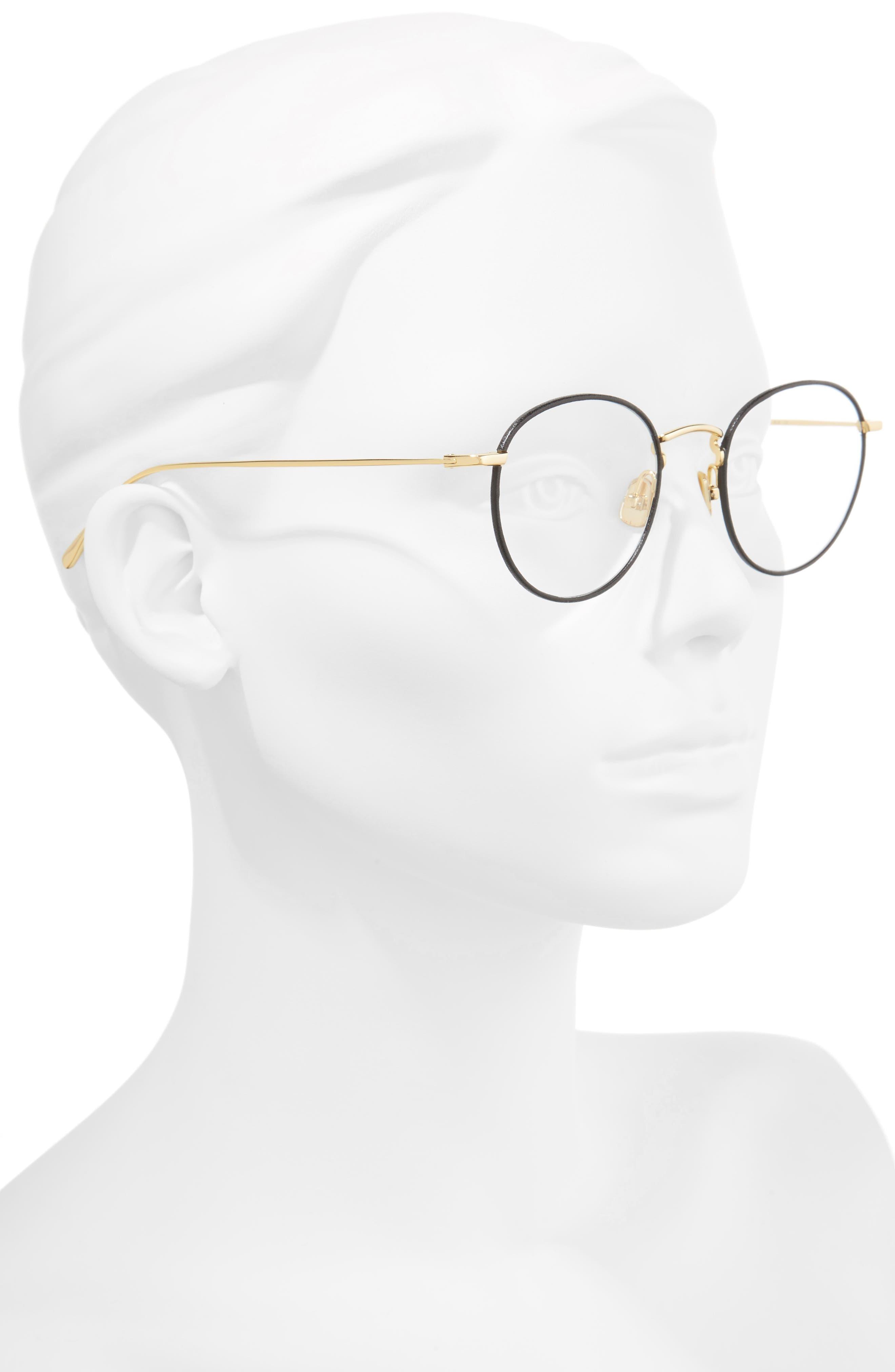 50mm Optical Glasses,                             Alternate thumbnail 2, color,                             BLACK