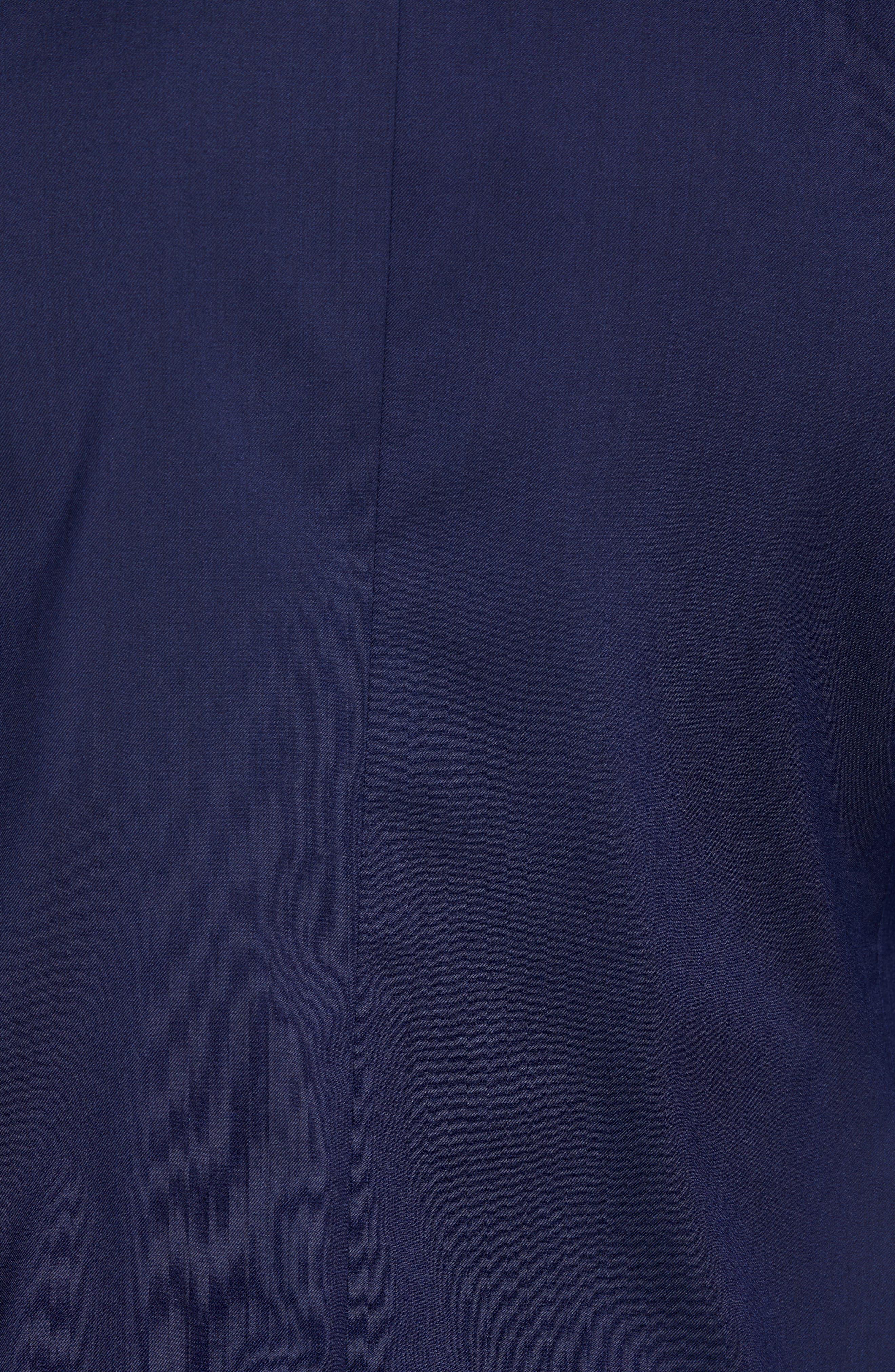 Capstone Slim Fit Tuxedo Trousers,                             Alternate thumbnail 5, color,                             NAVY