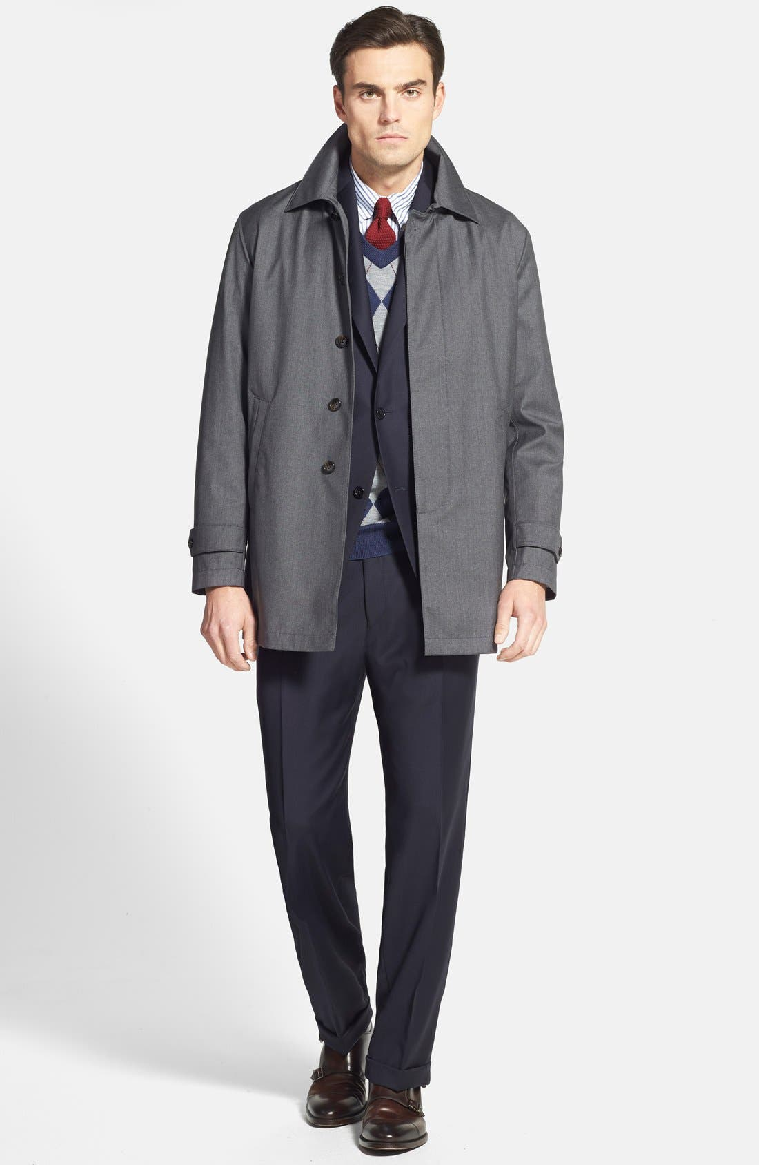 Chicago Classic Fit Solid Wool Suit,                             Alternate thumbnail 16, color,