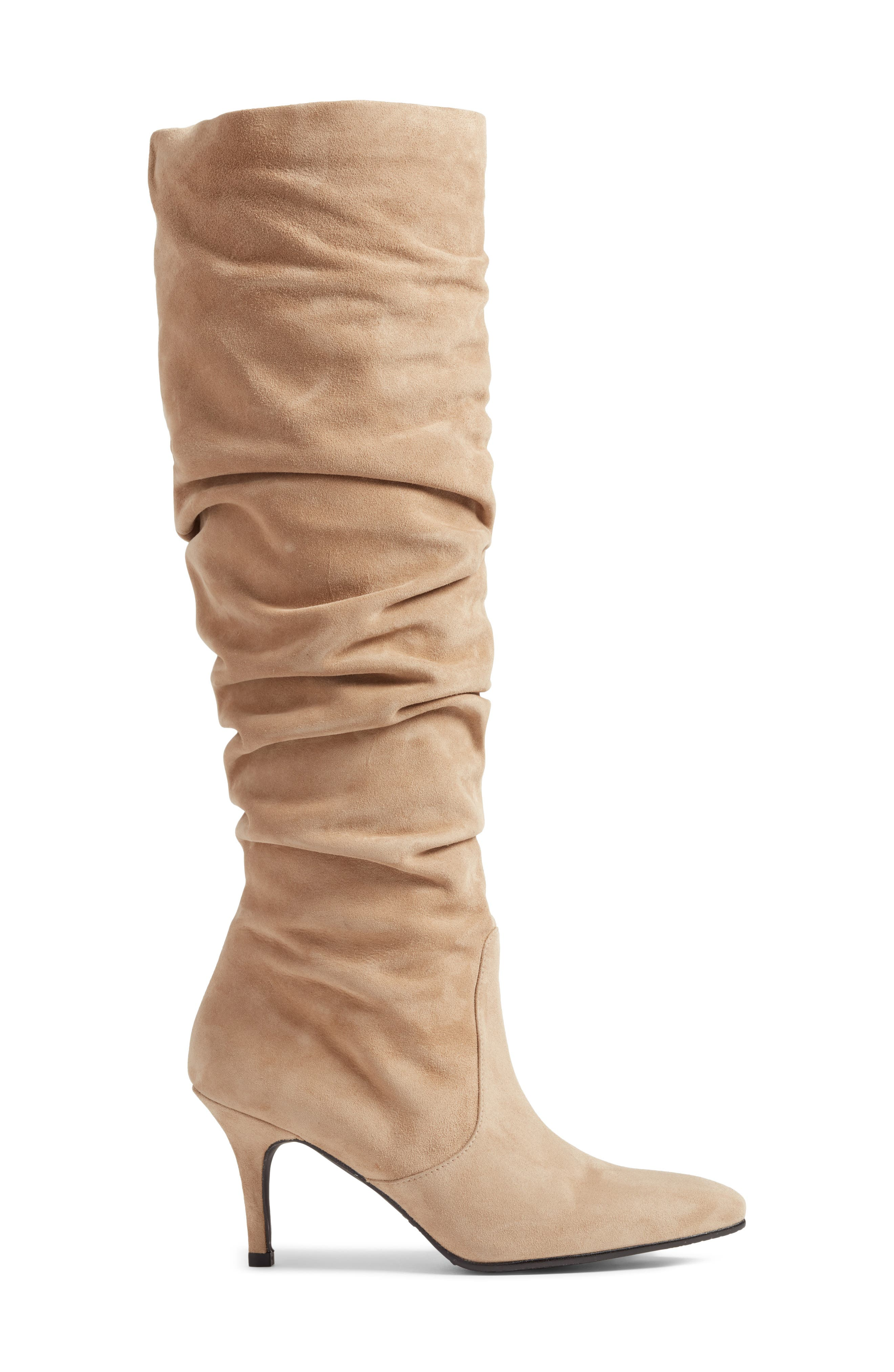 Lafayette Slouch Boot,                             Alternate thumbnail 3, color,                             MOJAVE SUEDE