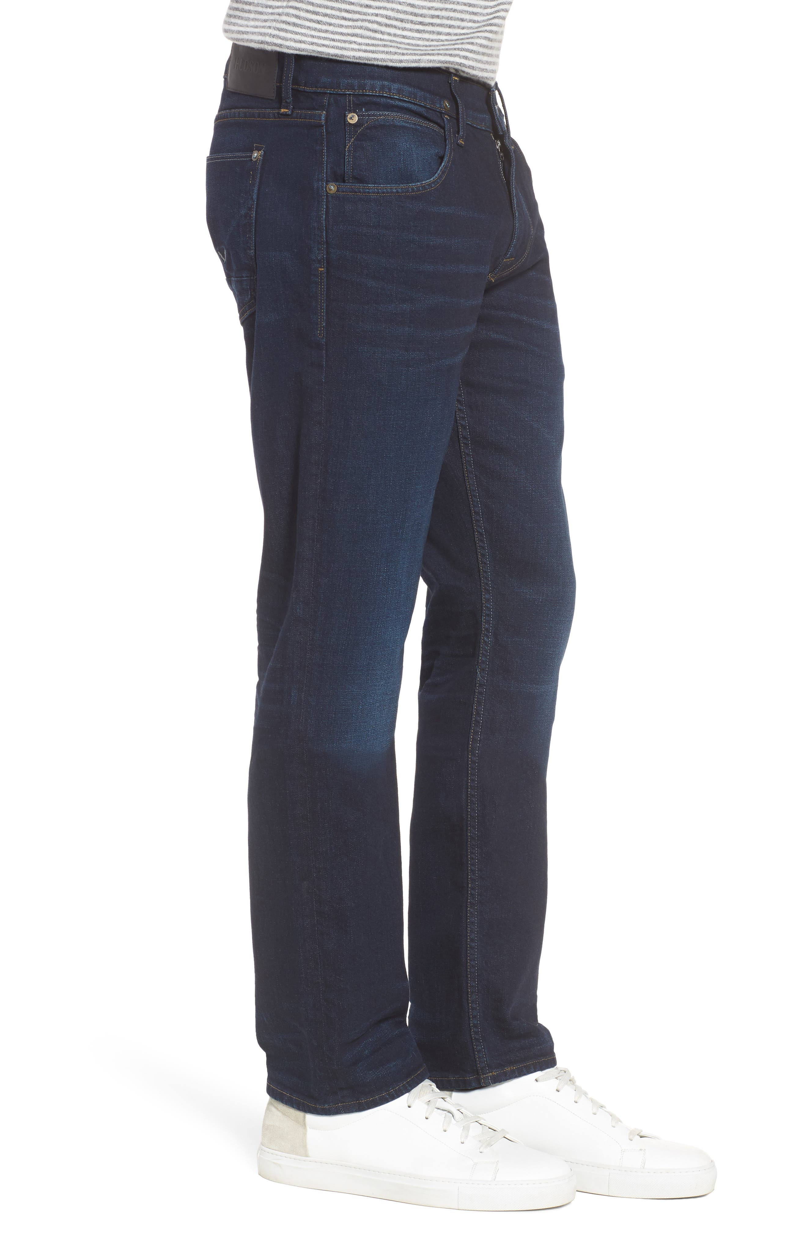 Byron Slim Straight Fit Jeans,                             Alternate thumbnail 3, color,                             405