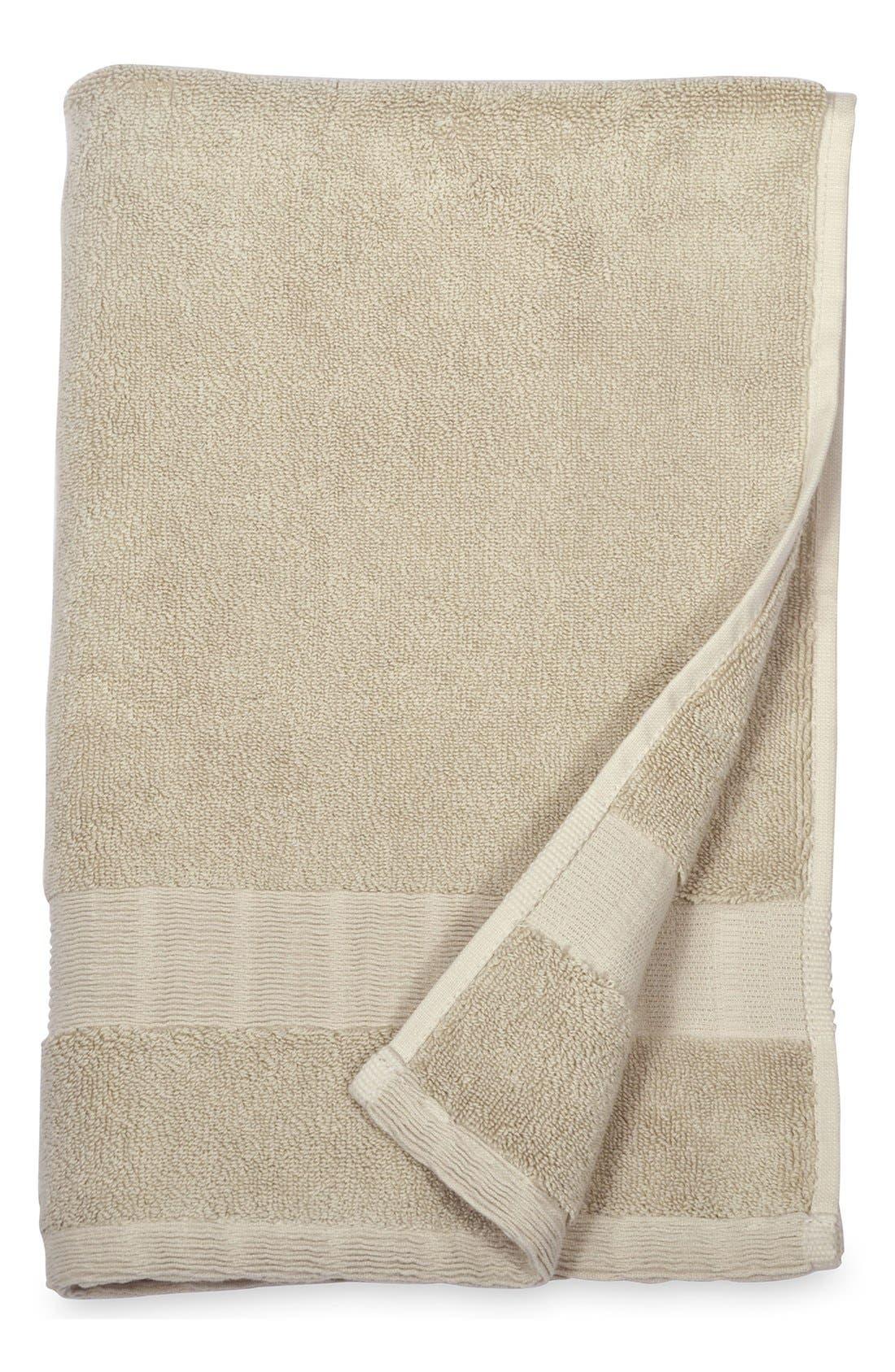 Mercer Hand Towel,                             Main thumbnail 1, color,                             STONE