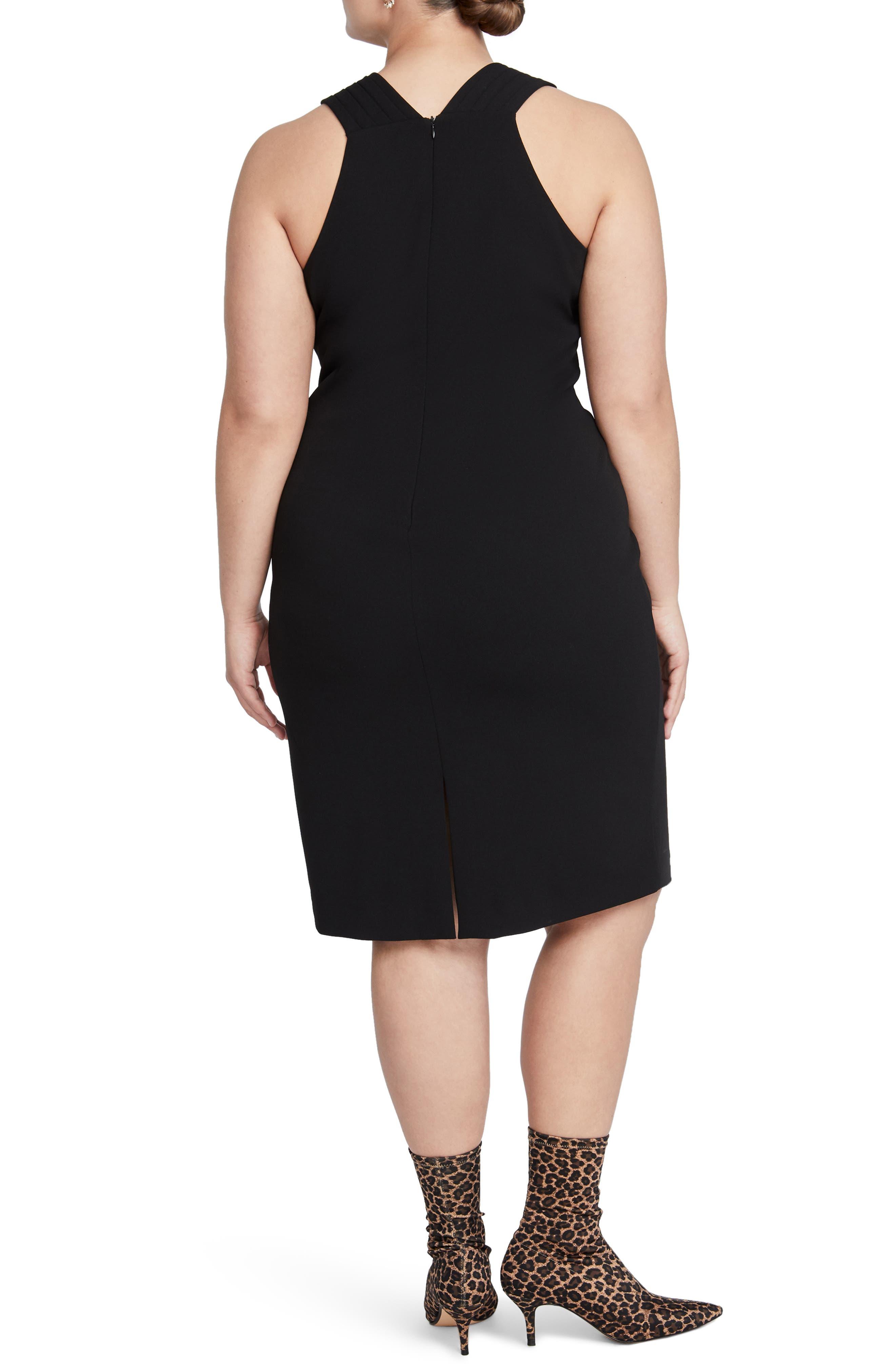 Prynn Sheath Dress,                             Alternate thumbnail 2, color,                             001