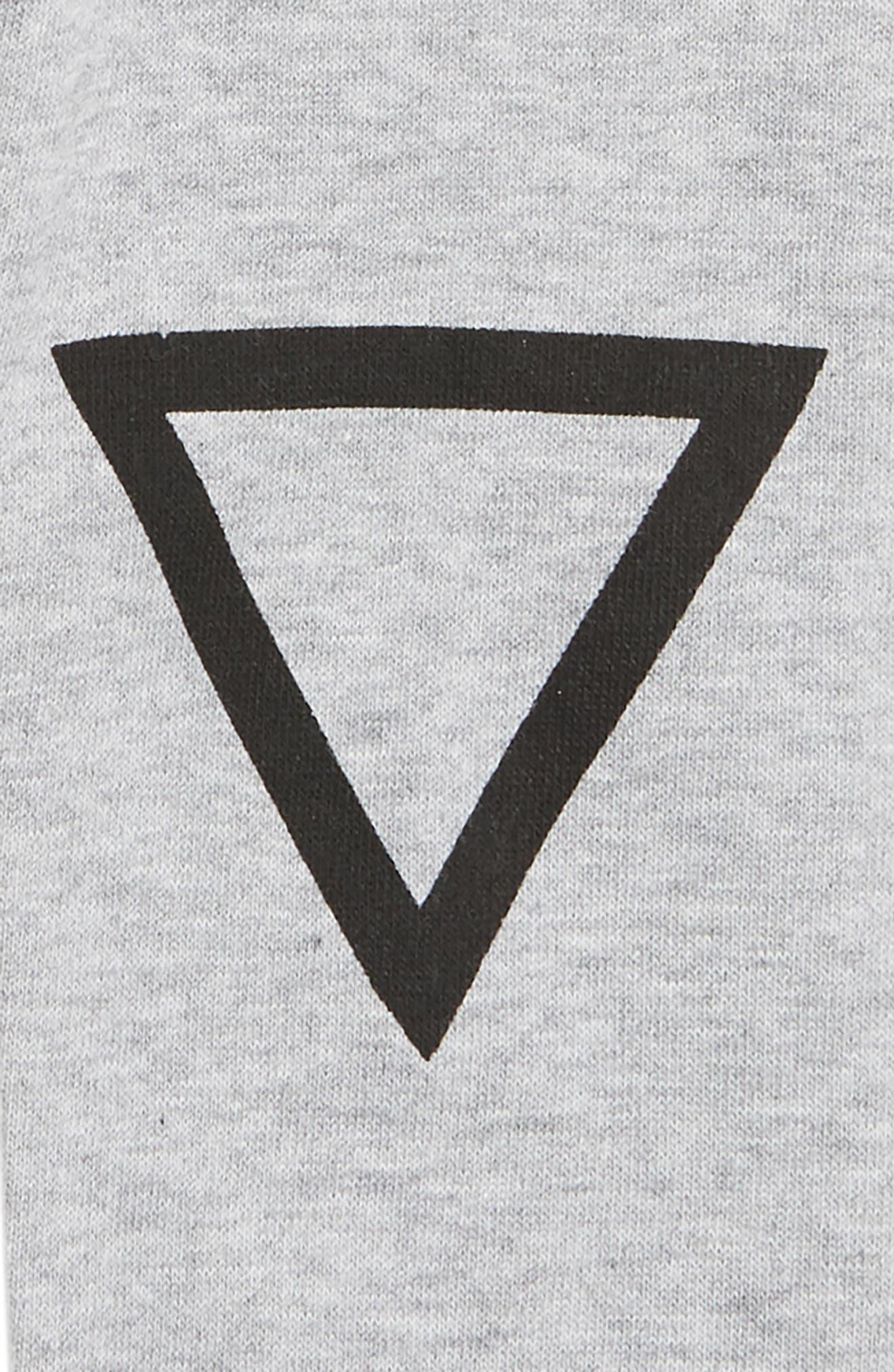 Triangle Sweatpants,                             Alternate thumbnail 3, color,                             001