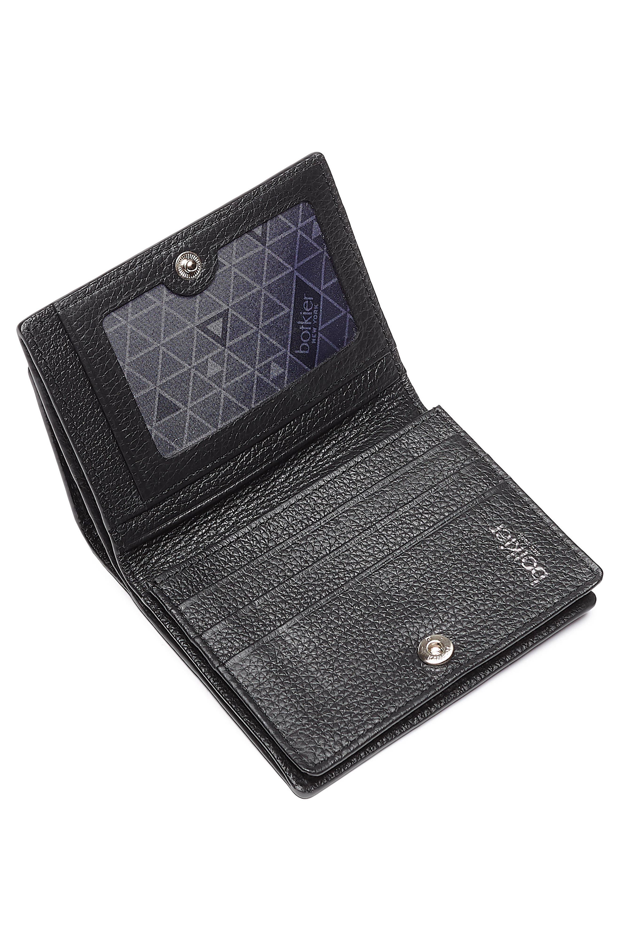 Soho Mini Leather Wallet,                             Alternate thumbnail 2, color,                             001