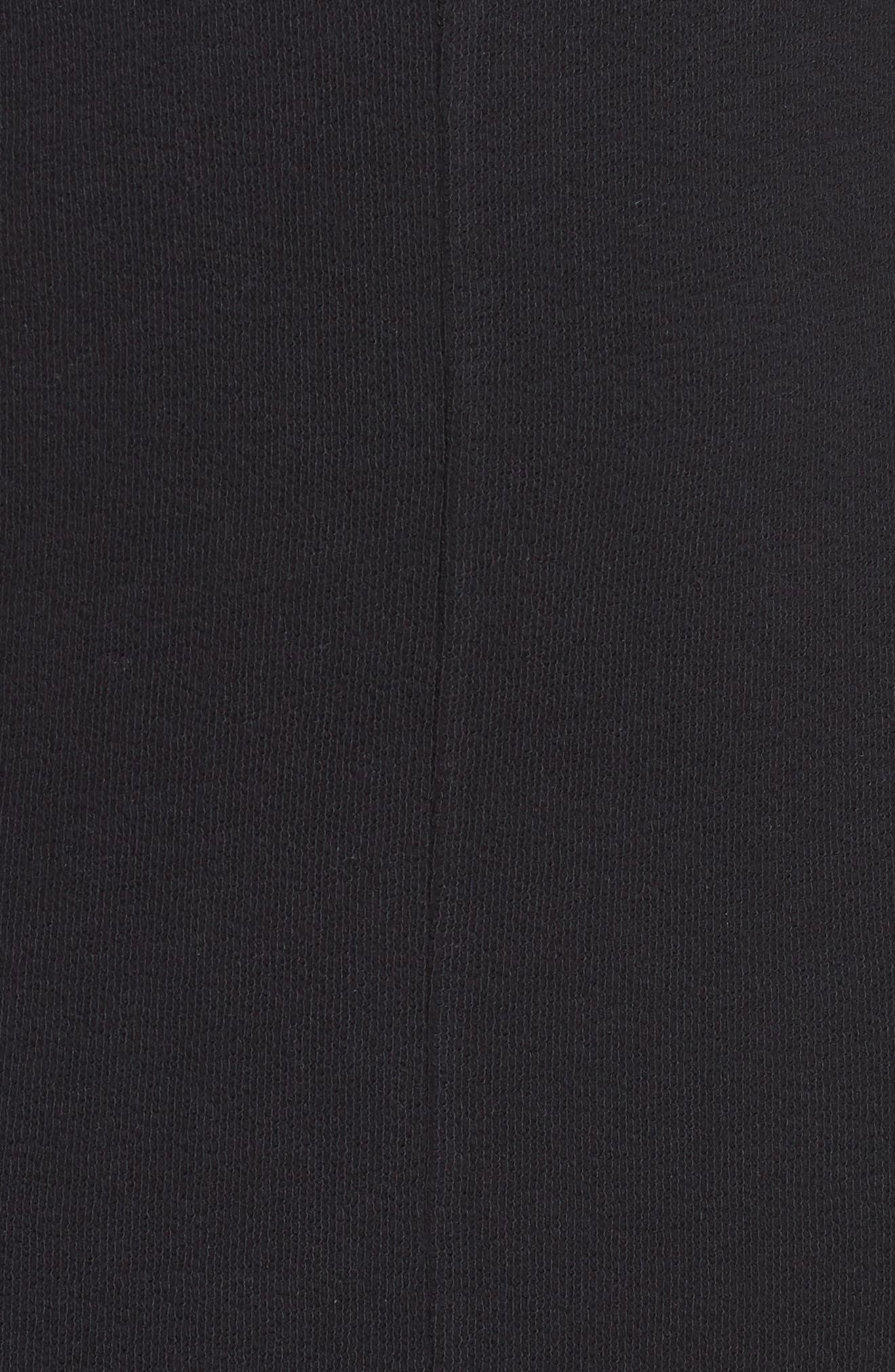 CASLON<SUP>®</SUP>,                             T-Shirt Dress,                             Alternate thumbnail 6, color,                             BLACK