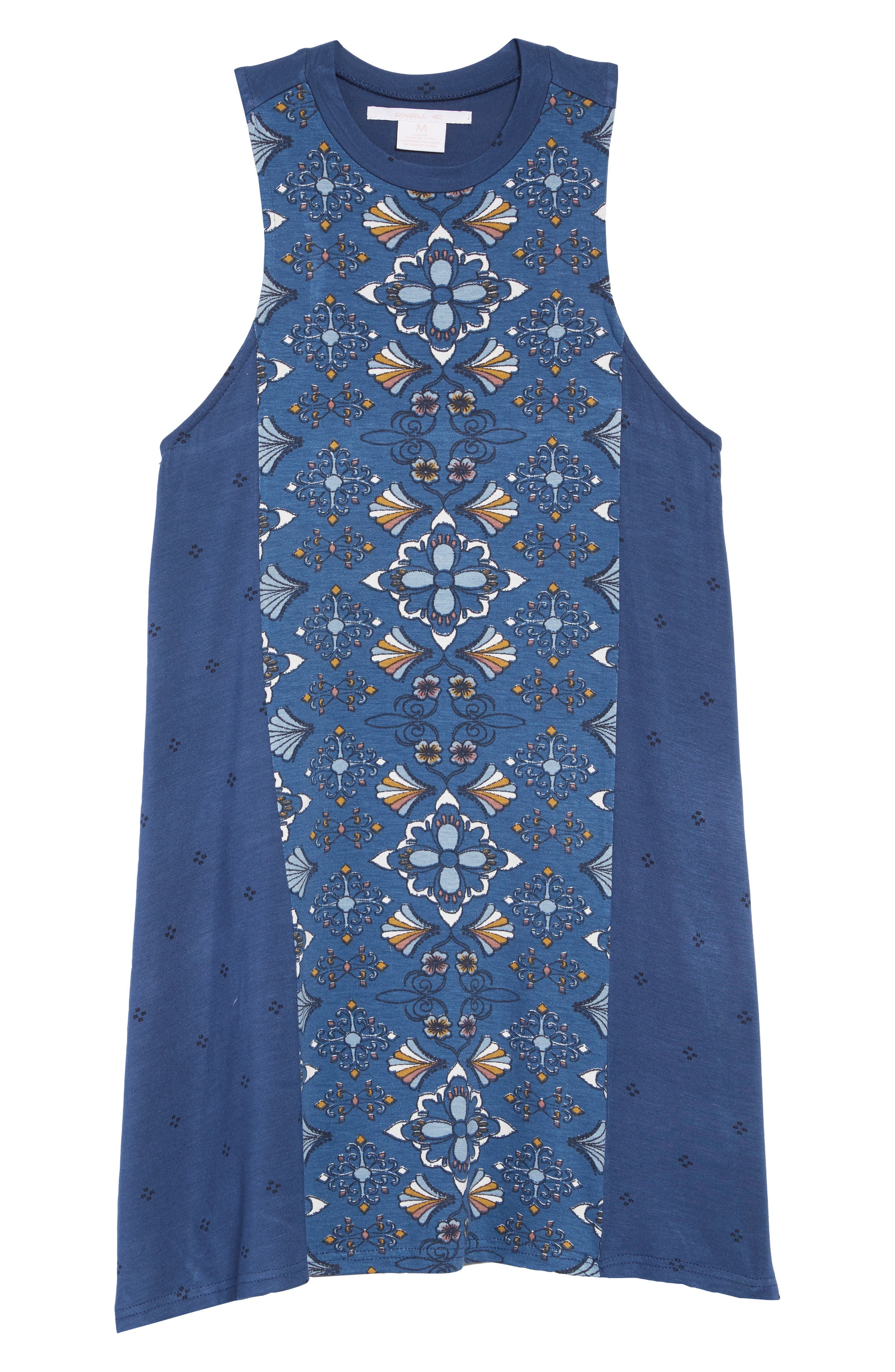 O'NEILL,                             Eslie Tank Dress,                             Main thumbnail 1, color,                             ENSIGN BLUE