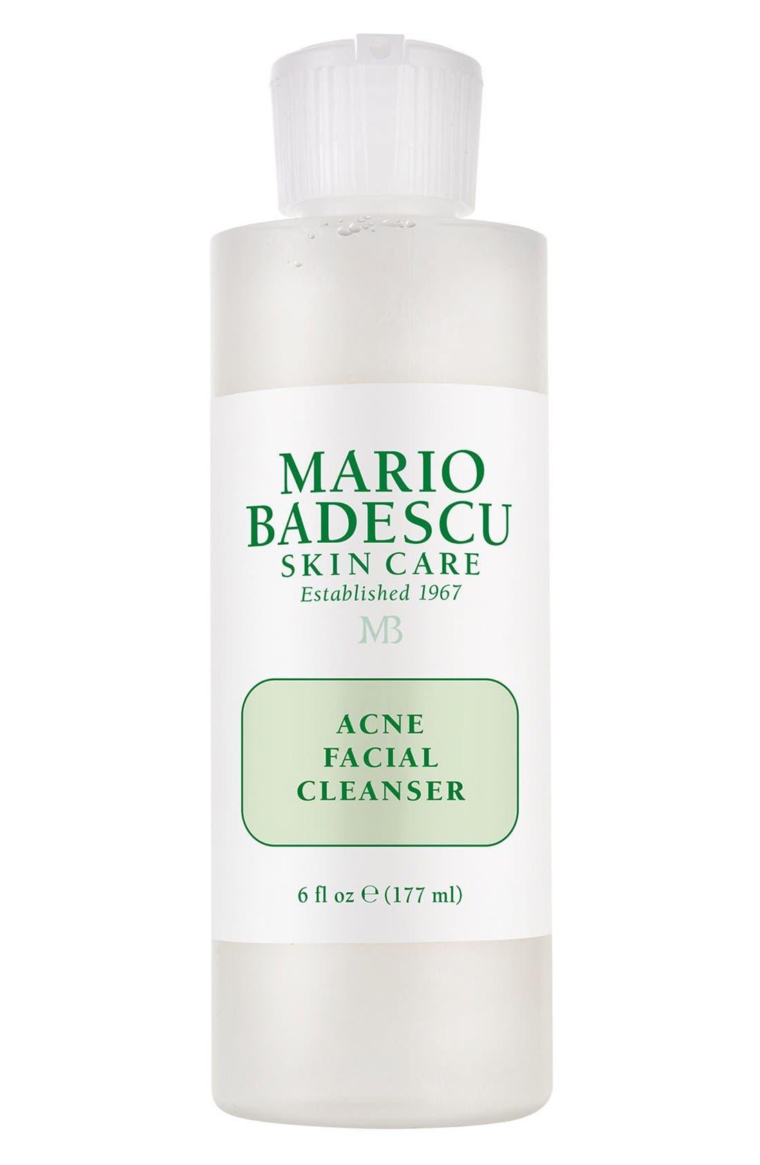 Acne Facial Cleanser,                         Main,                         color, NO COLOR