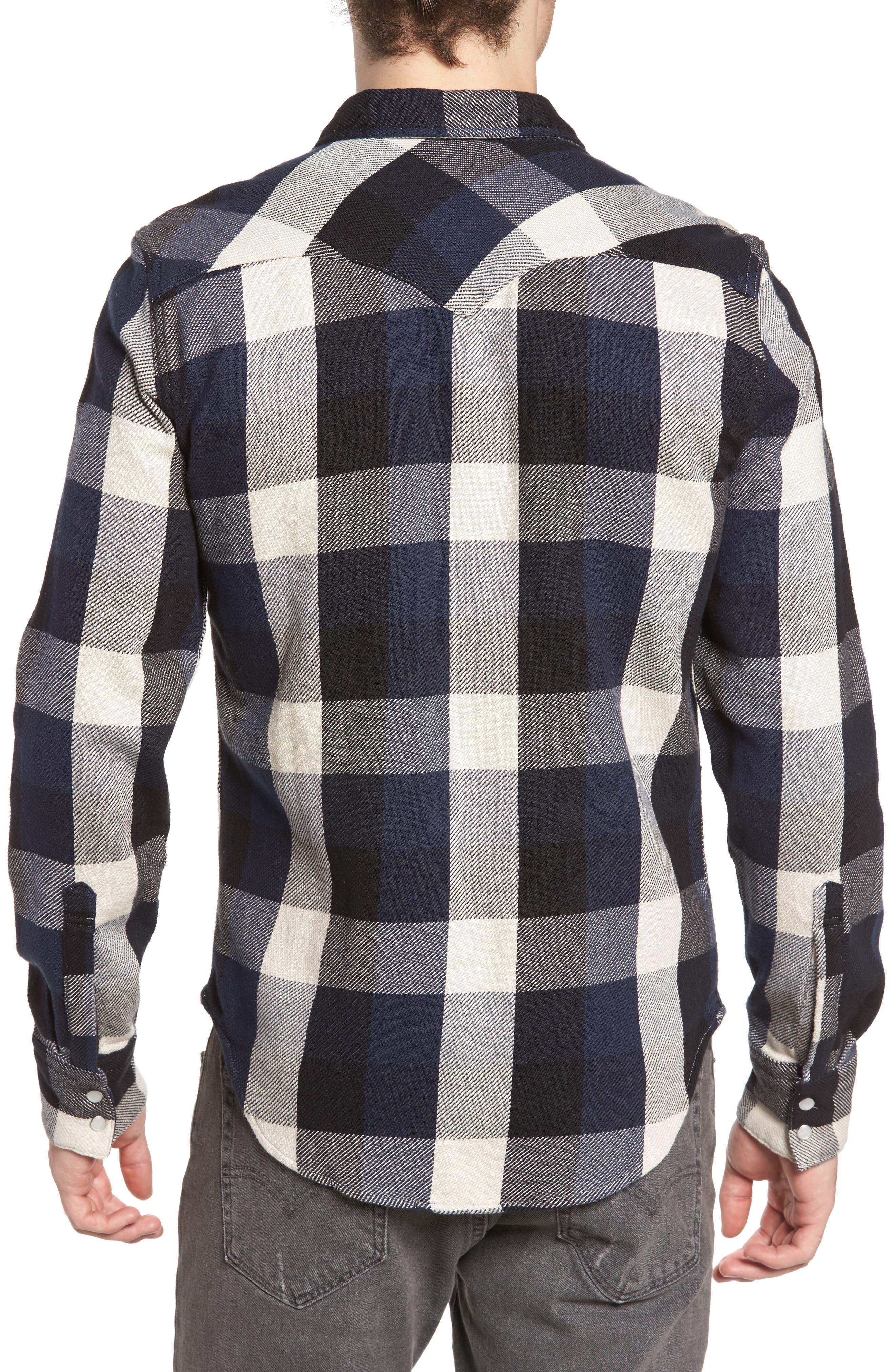 'Barstow' Denim Western Shirt,                             Alternate thumbnail 9, color,