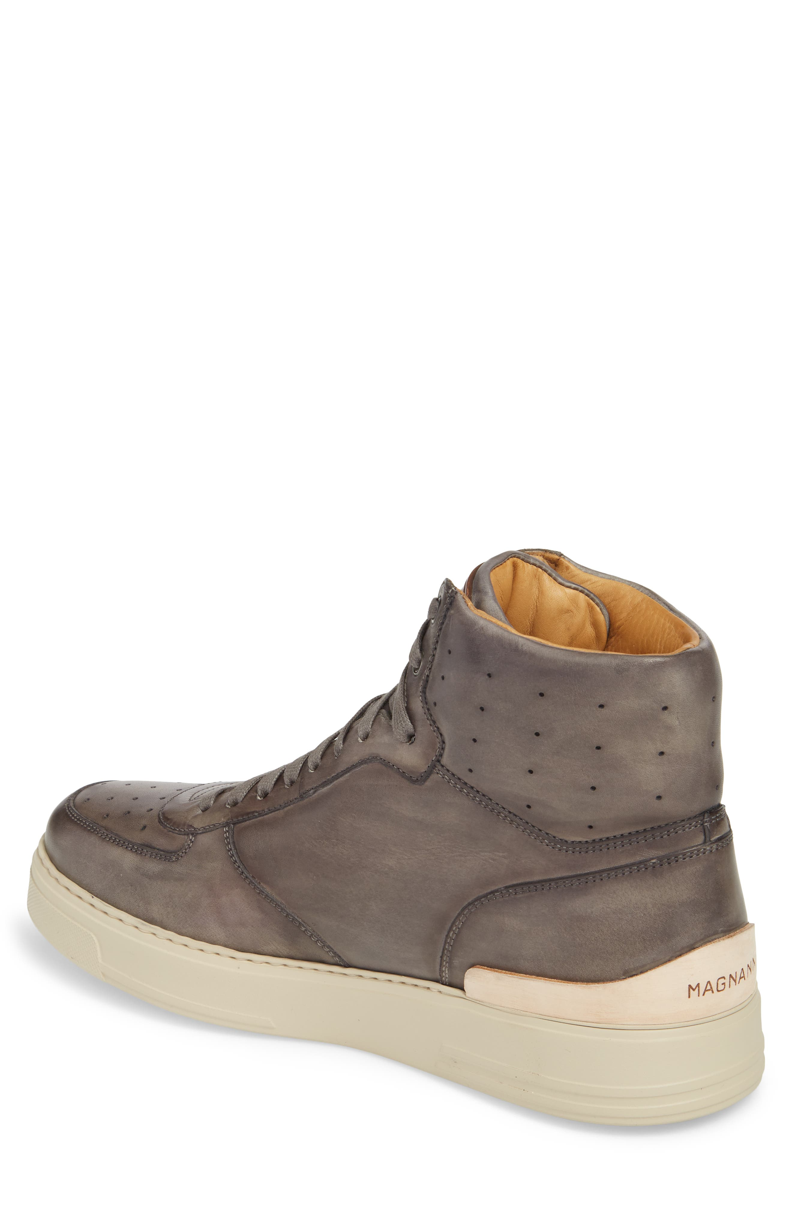 Varro Hi Top Lace Up Sneaker,                             Alternate thumbnail 2, color,