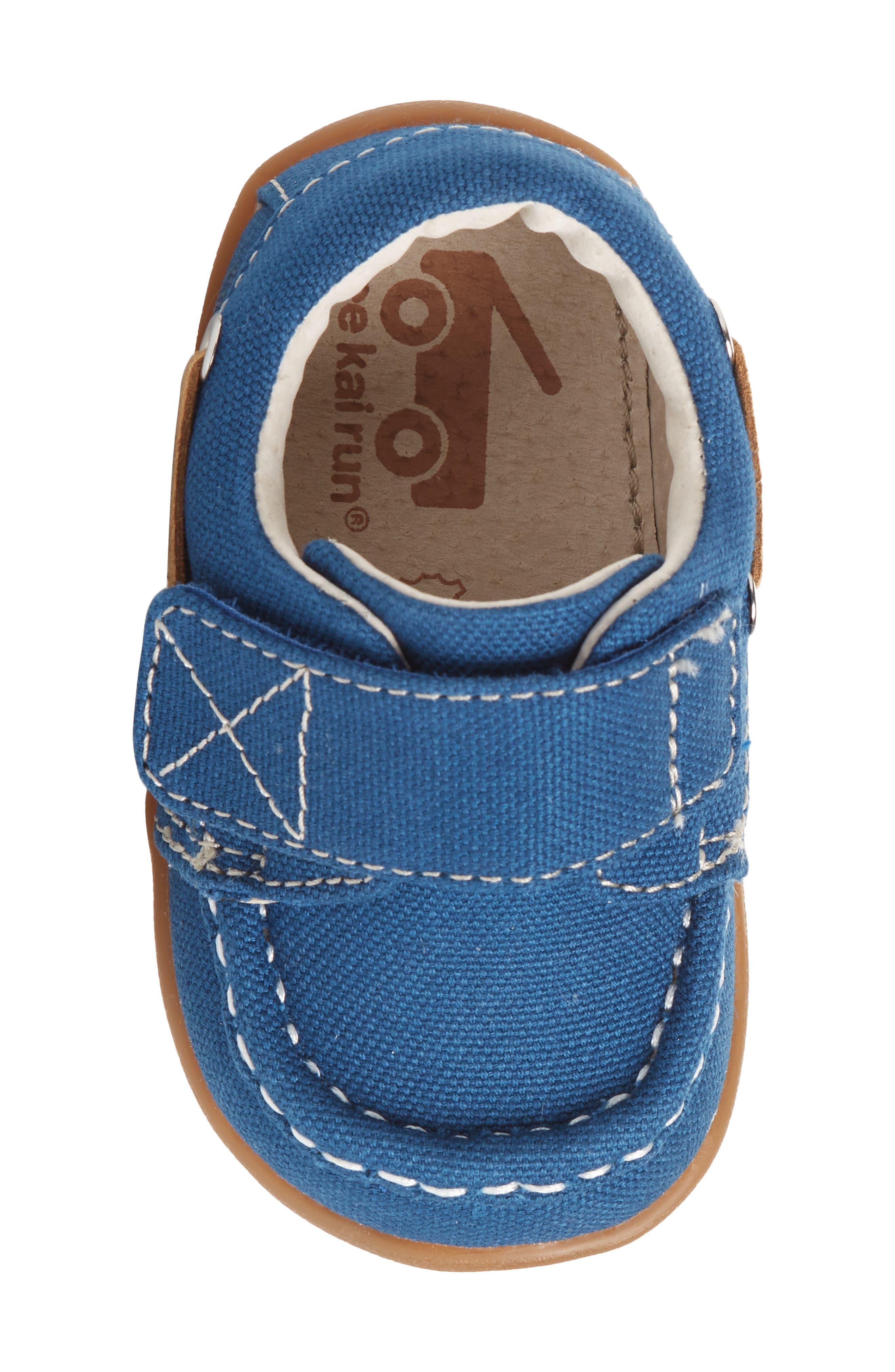 Arthur Sneaker,                             Alternate thumbnail 5, color,                             BLUE CANVAS