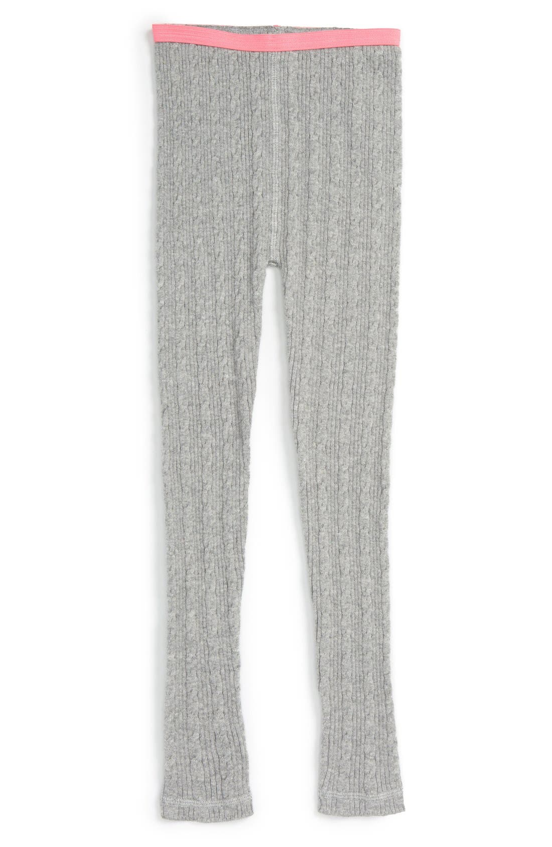 Cable Knit Sweater Leggings, Main, color, 030