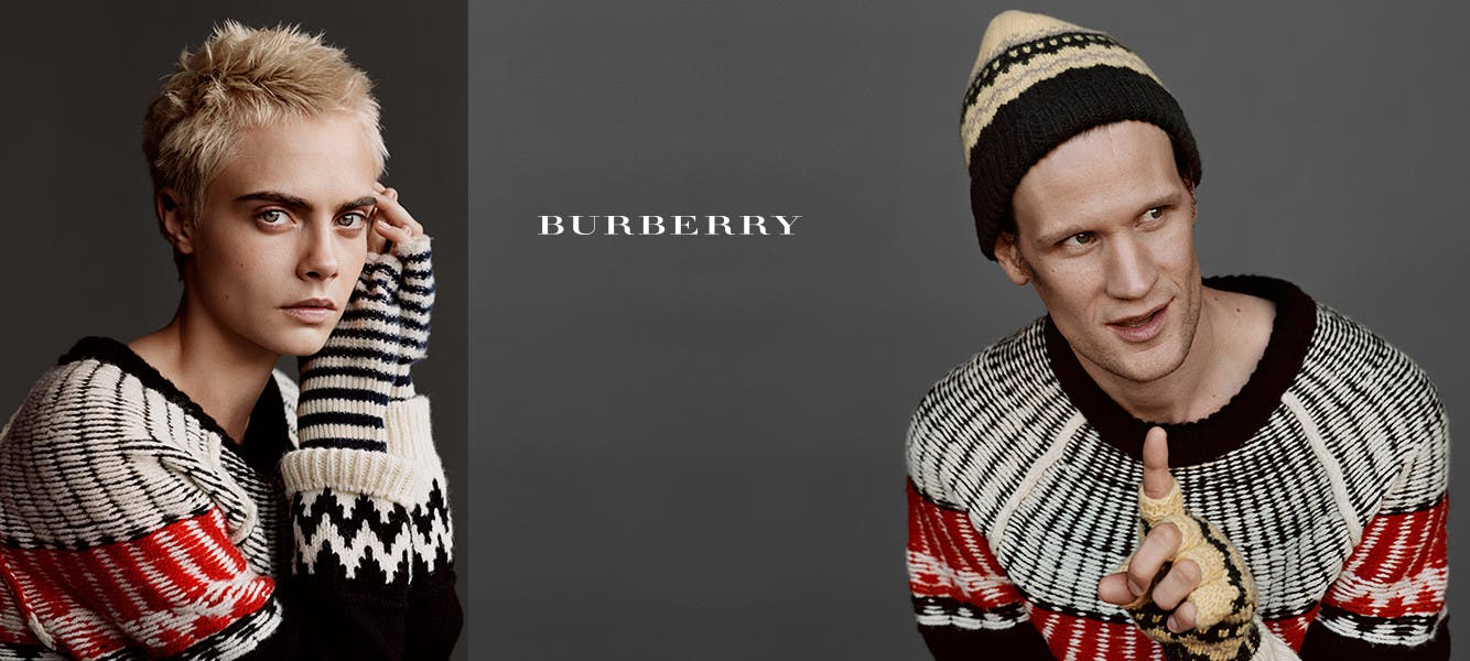 Give Burberry: holiday gifts for men, women and kids.