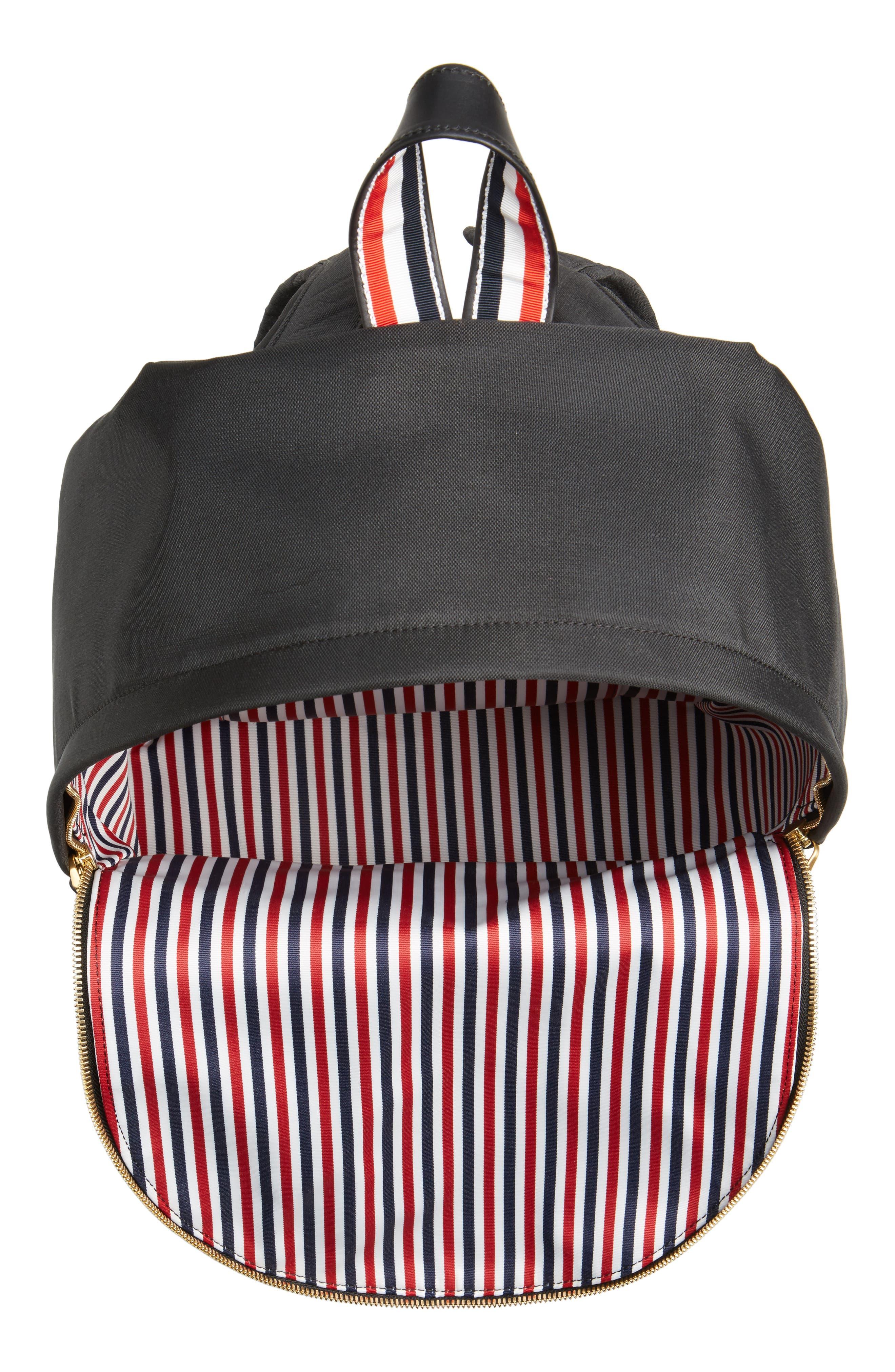 Nylon Backpack,                             Alternate thumbnail 4, color,                             001
