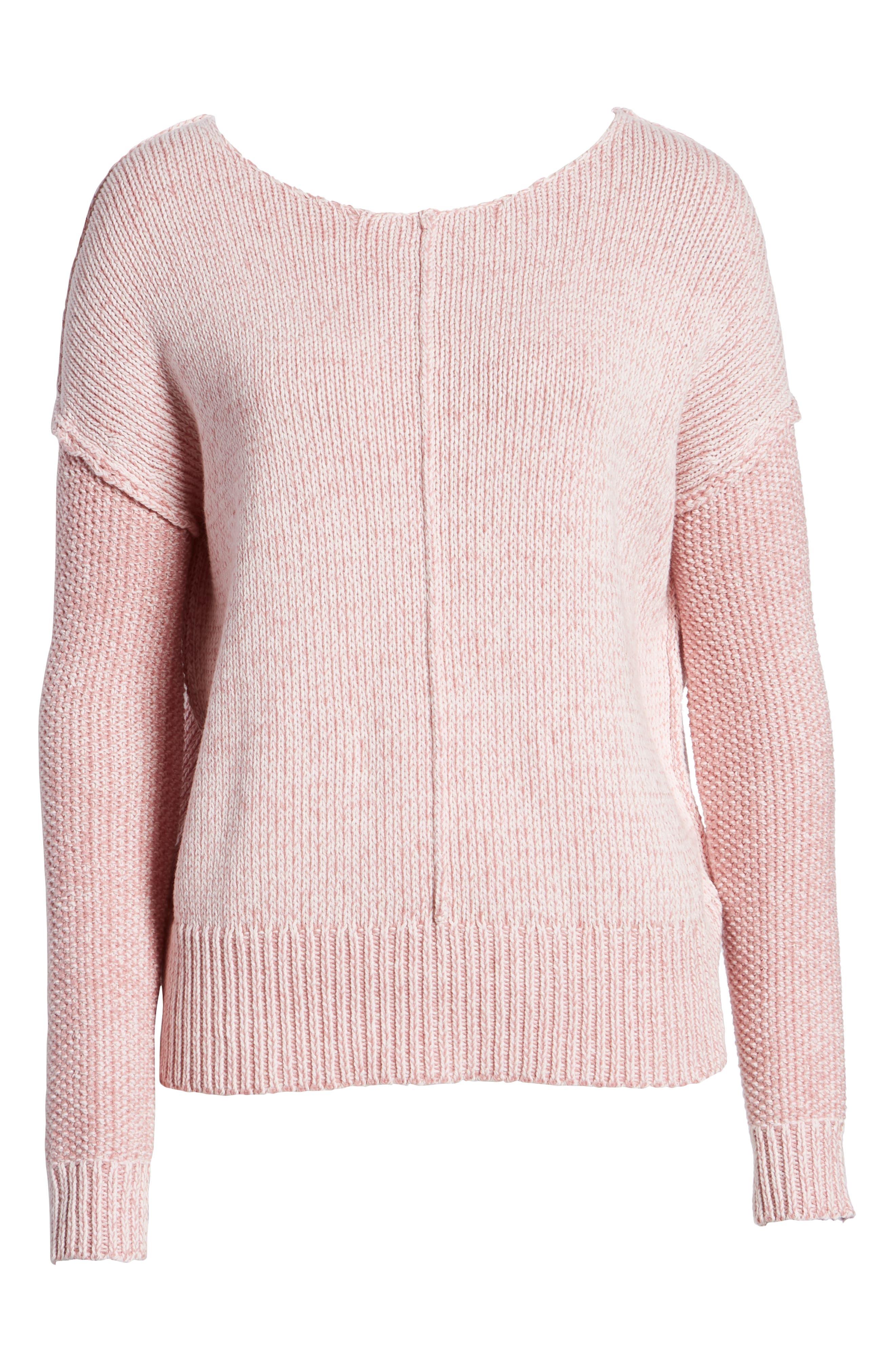 Lola Reversible Twist Sweater,                             Alternate thumbnail 19, color,
