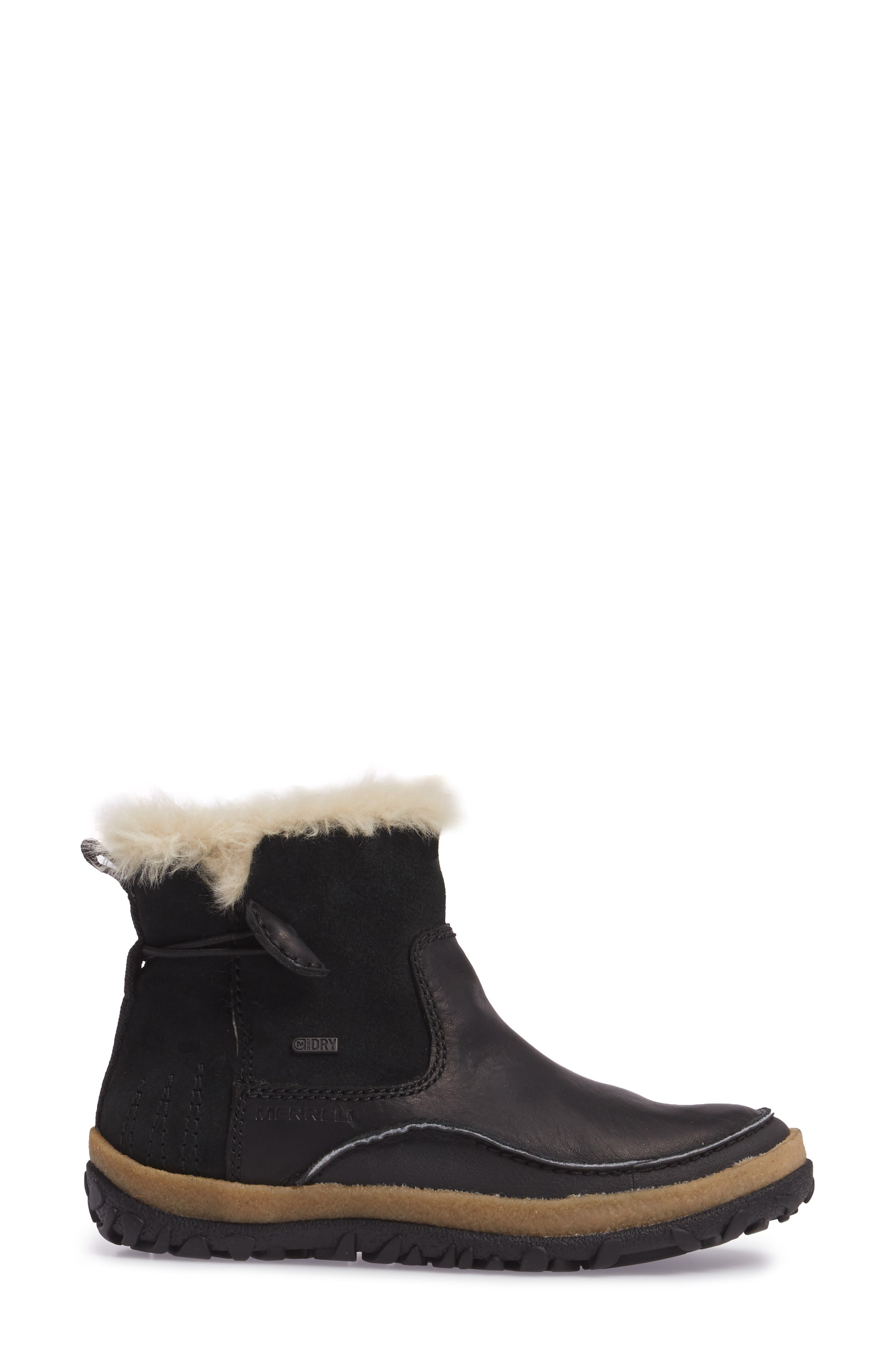 Tremblant Pull-On Polar Waterproof Bootie,                             Alternate thumbnail 3, color,                             001