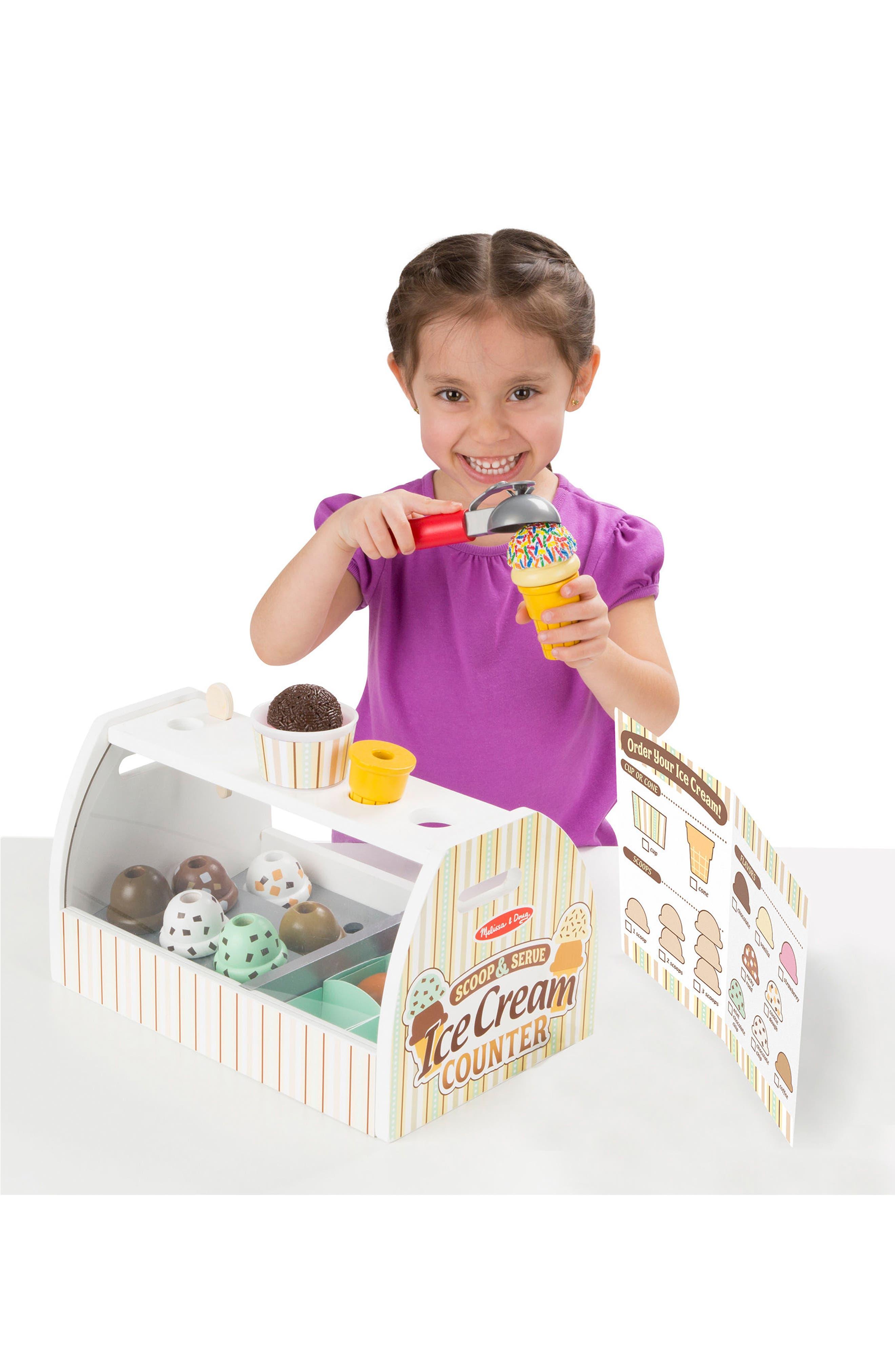 Ice Cream Counter Play Set,                             Alternate thumbnail 3, color,                             MULTI