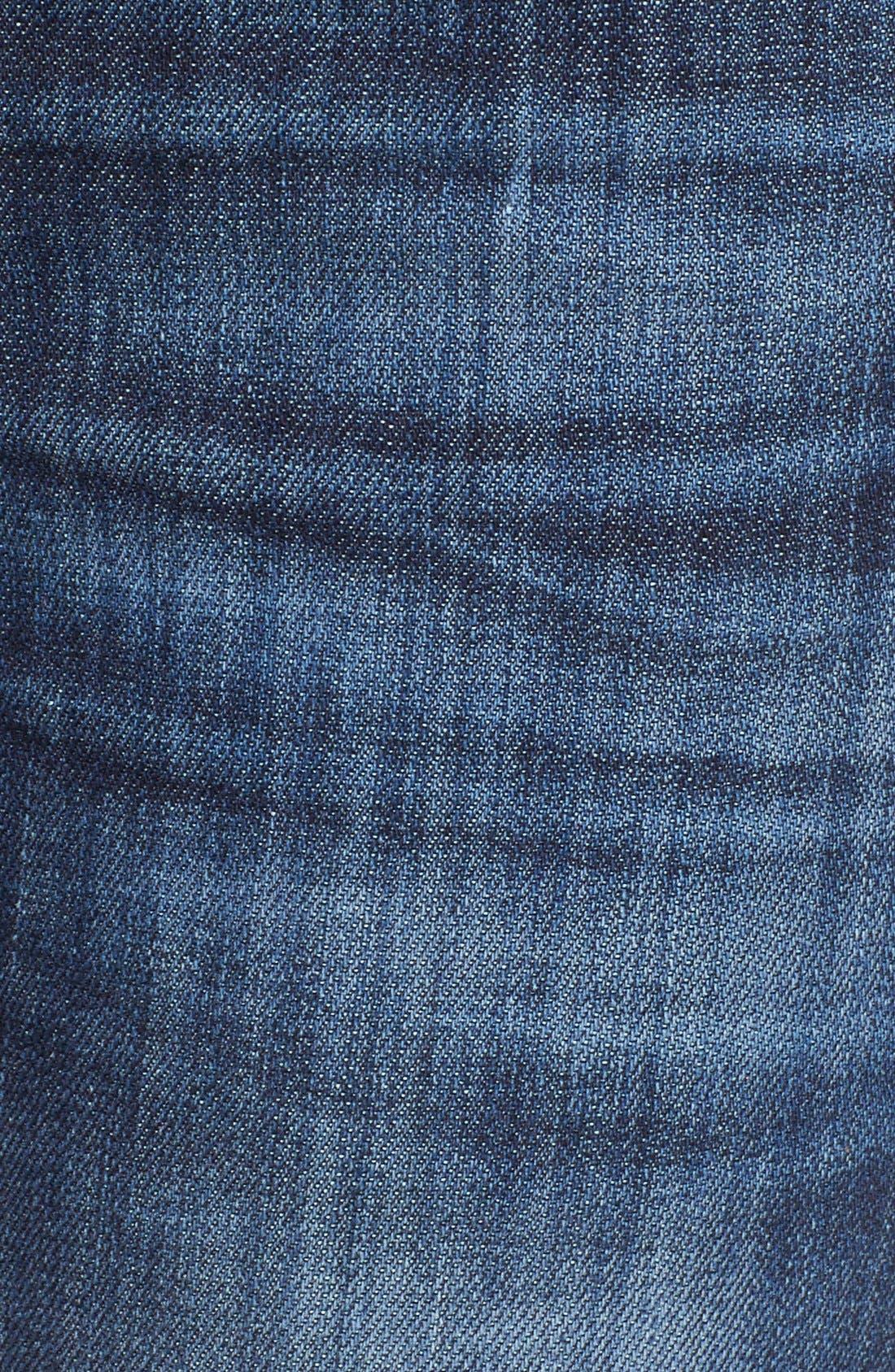 'Catherine' Stretch Boyfriend Jeans,                             Alternate thumbnail 5, color,                             402