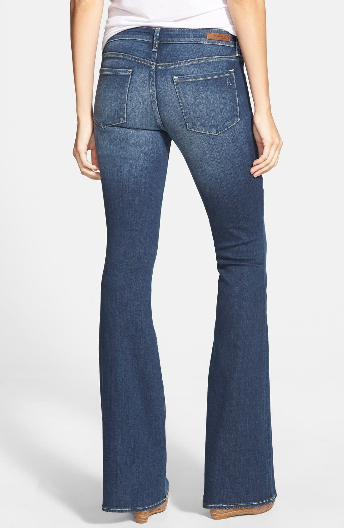'Faith' Flare Jeans,                             Alternate thumbnail 2, color,                             400