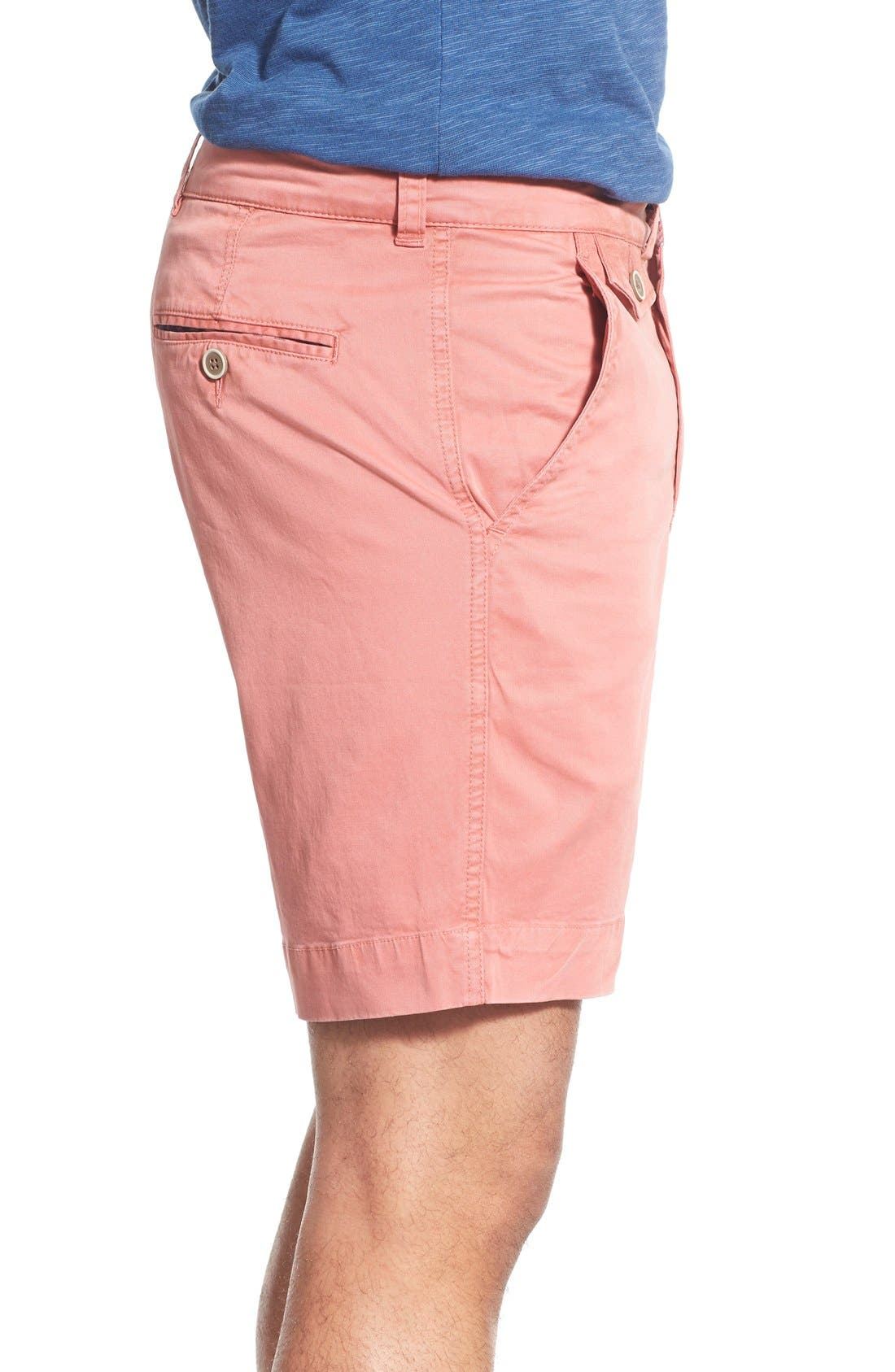 'Sunny' Stretch Twill Chino Shorts,                             Alternate thumbnail 20, color,