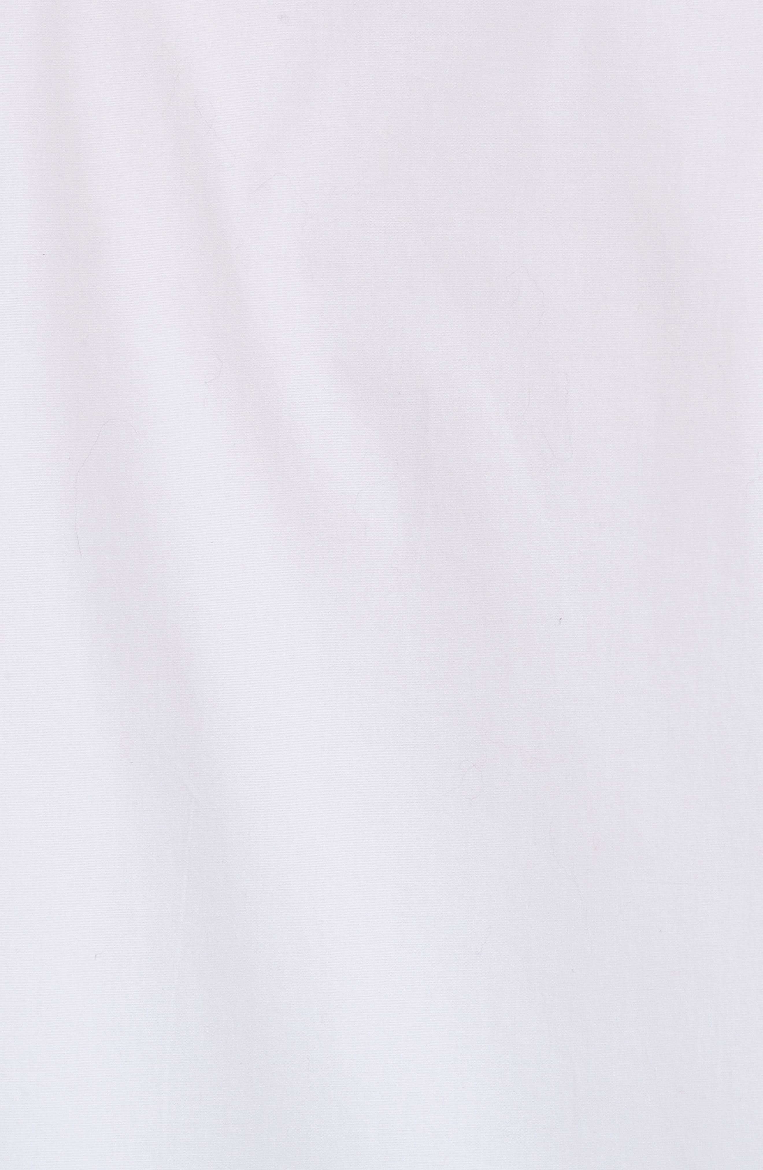Jasper Stretch Poplin Shirt,                             Alternate thumbnail 5, color,                             100