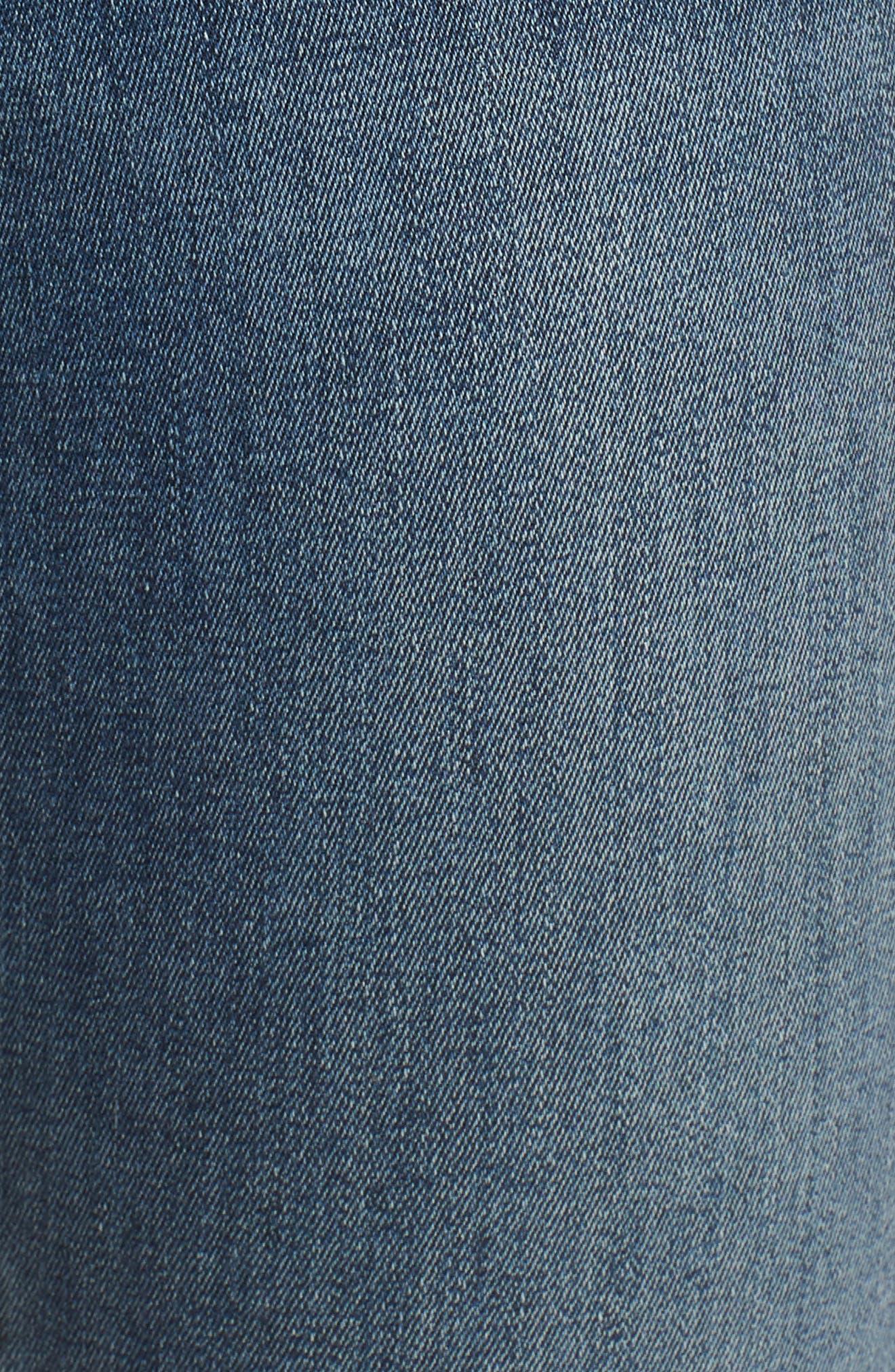 Lolita Skinny Cropped Denim Jeans,                             Alternate thumbnail 6, color,                             420