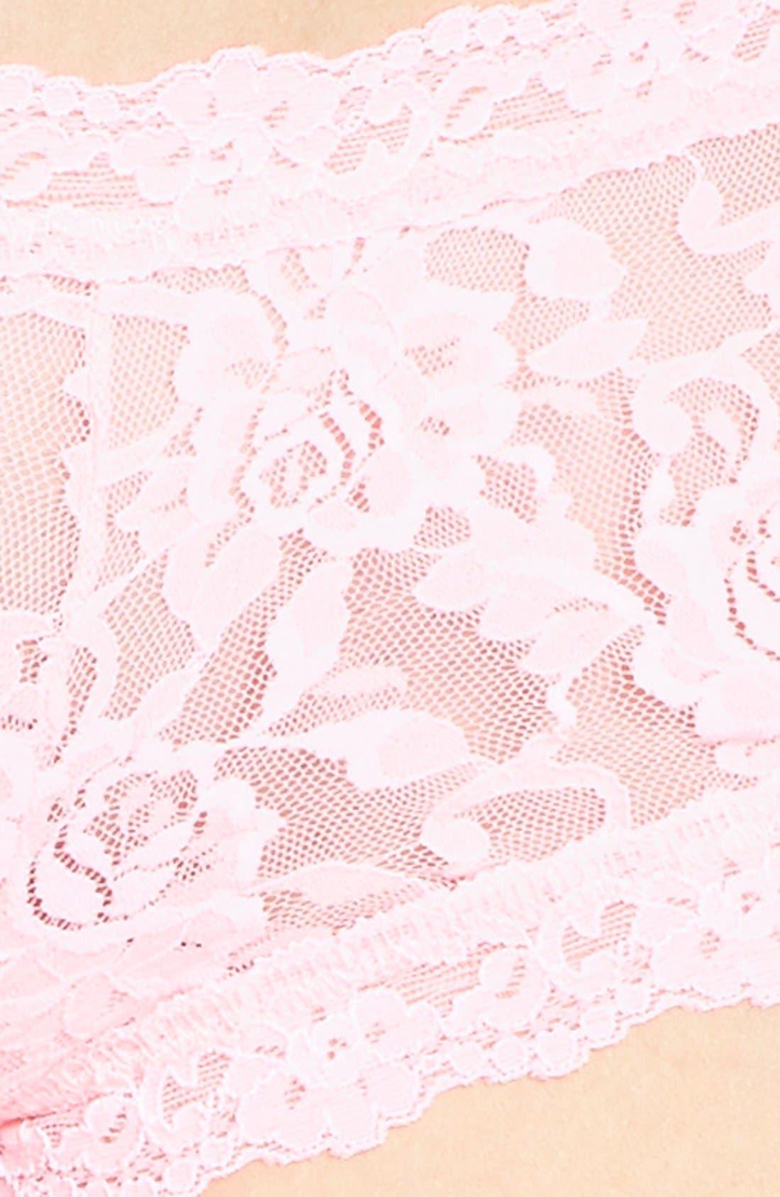 'Signature Lace' Boyshorts,                             Alternate thumbnail 466, color,