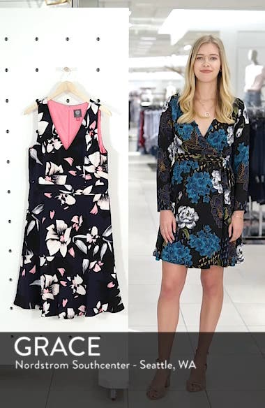 Stretch Fit & Flare Dress, sales video thumbnail