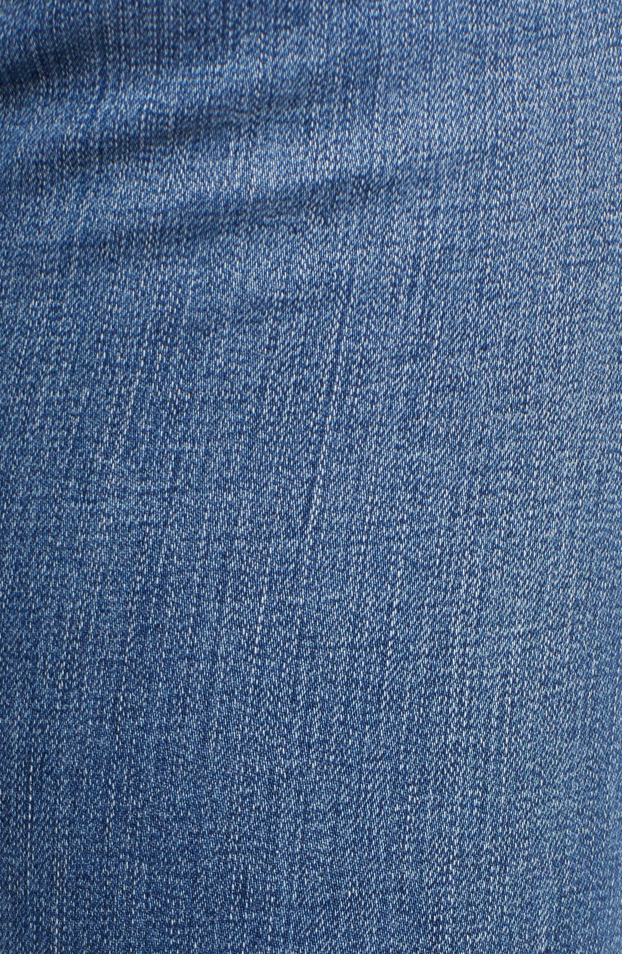 'The Farrah' High Rise Skinny Jeans,                             Alternate thumbnail 45, color,