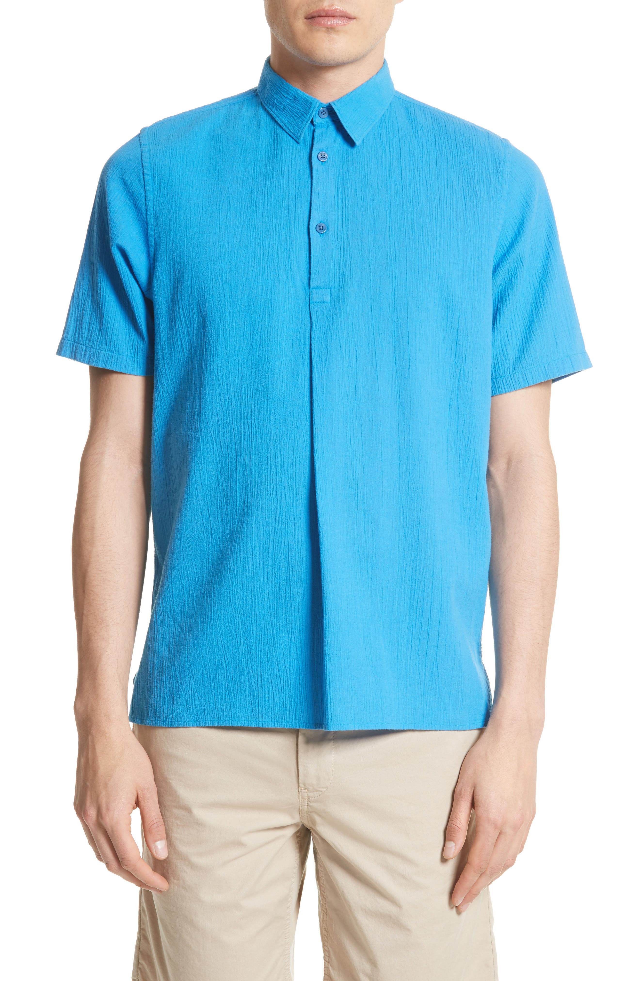 Theo Cotton & Linen Sport Shirt,                             Main thumbnail 1, color,                             401