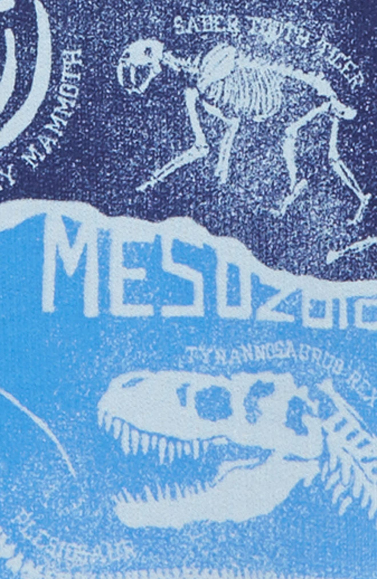 Dino Graphic Pullover,                             Alternate thumbnail 2, color,                             PALE BLUE