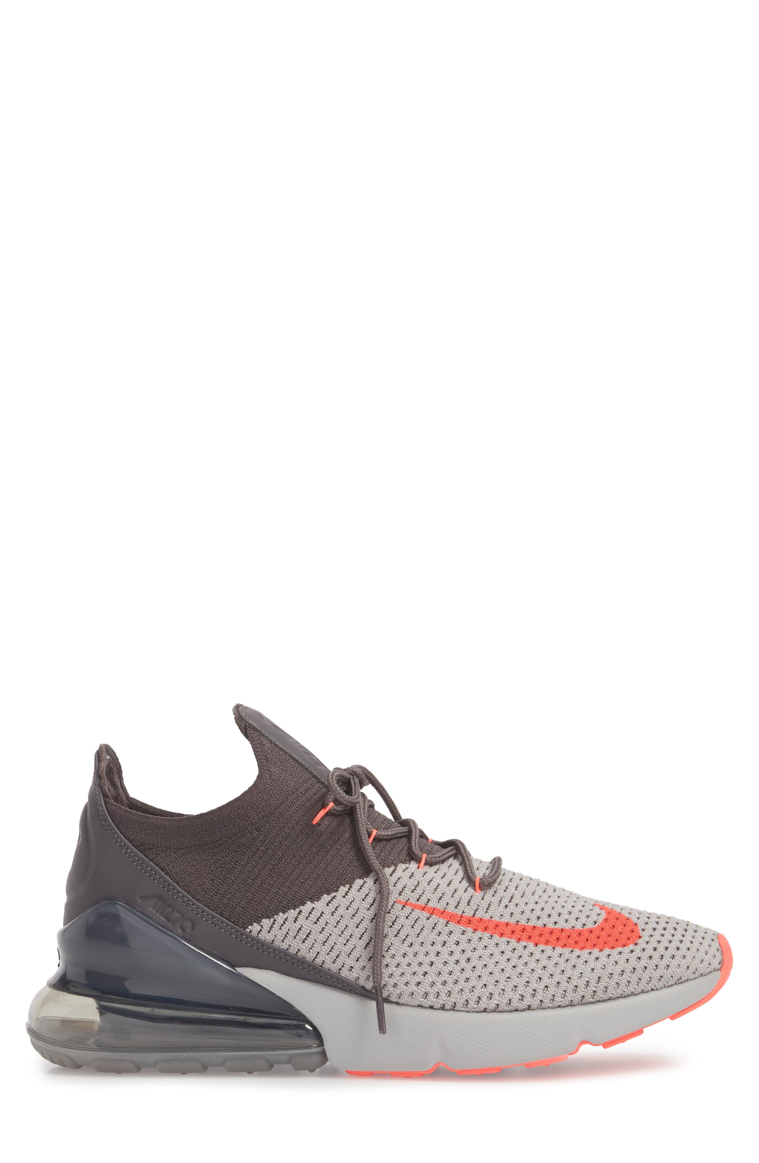Air Max 270 Flyknit Sneaker,                             Alternate thumbnail 16, color,