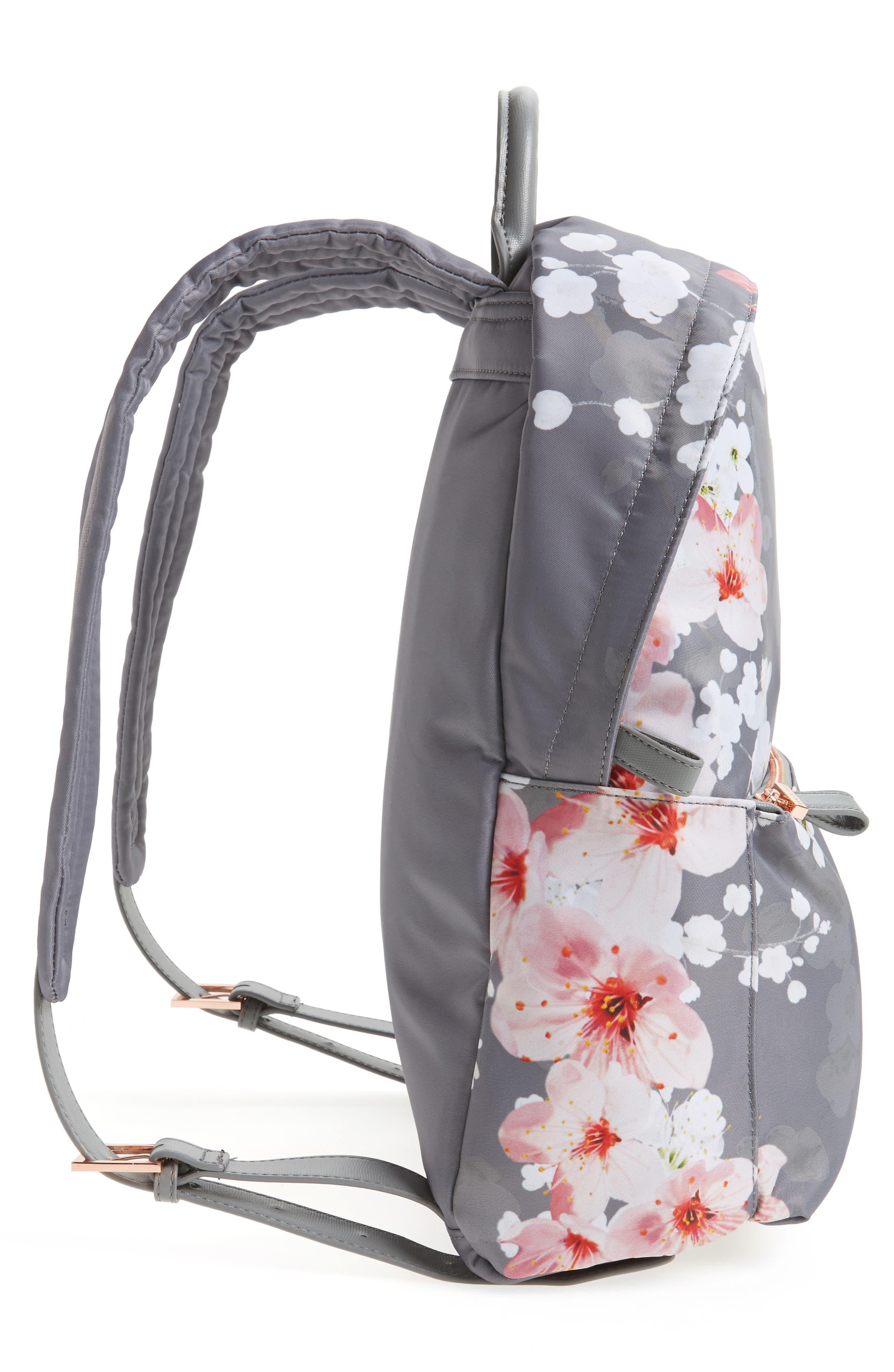 Olica Oriental Blossom Backpack,                             Alternate thumbnail 5, color,                             050