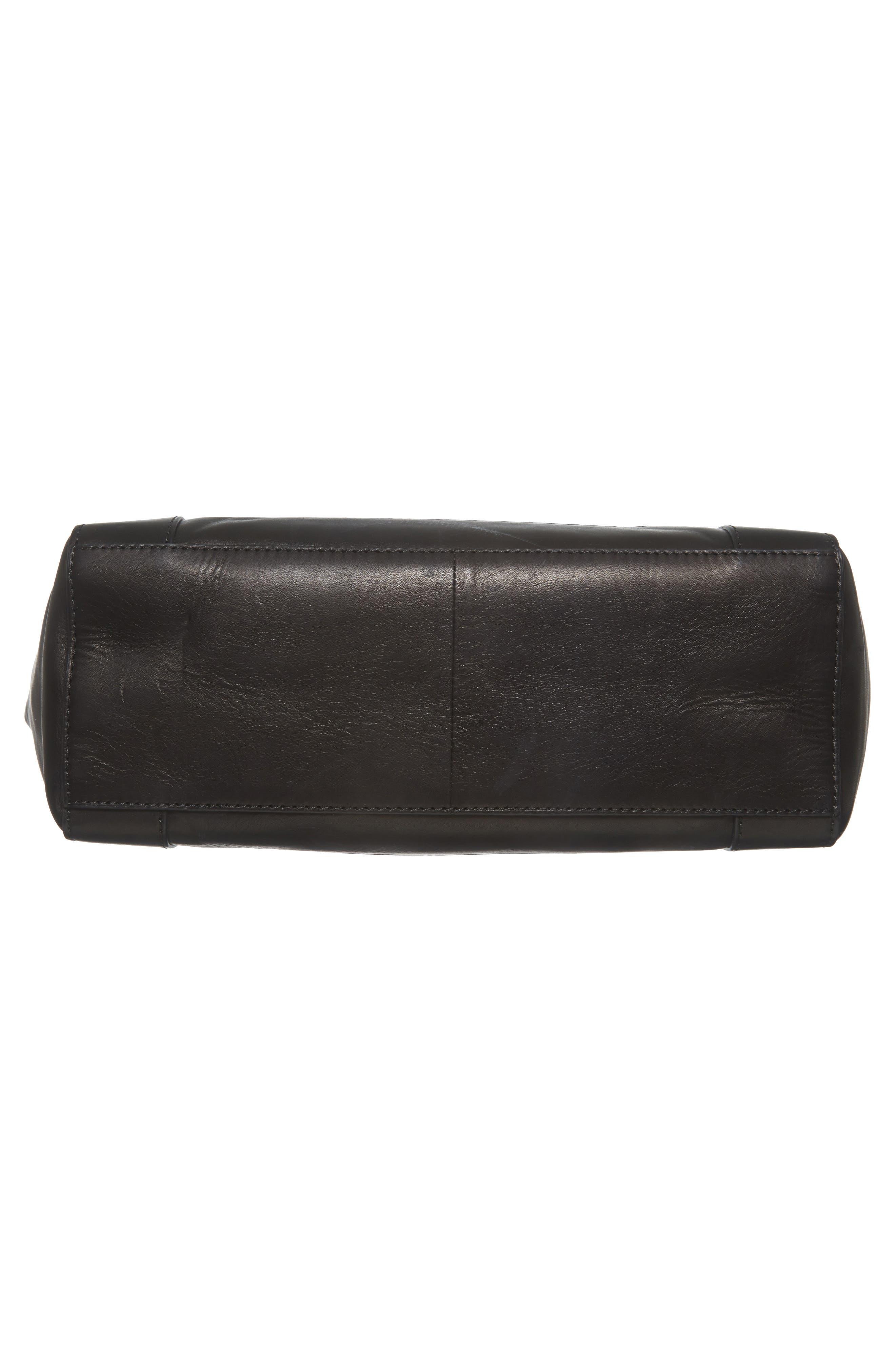 Melissa Leather Shoulder Bag,                             Alternate thumbnail 16, color,