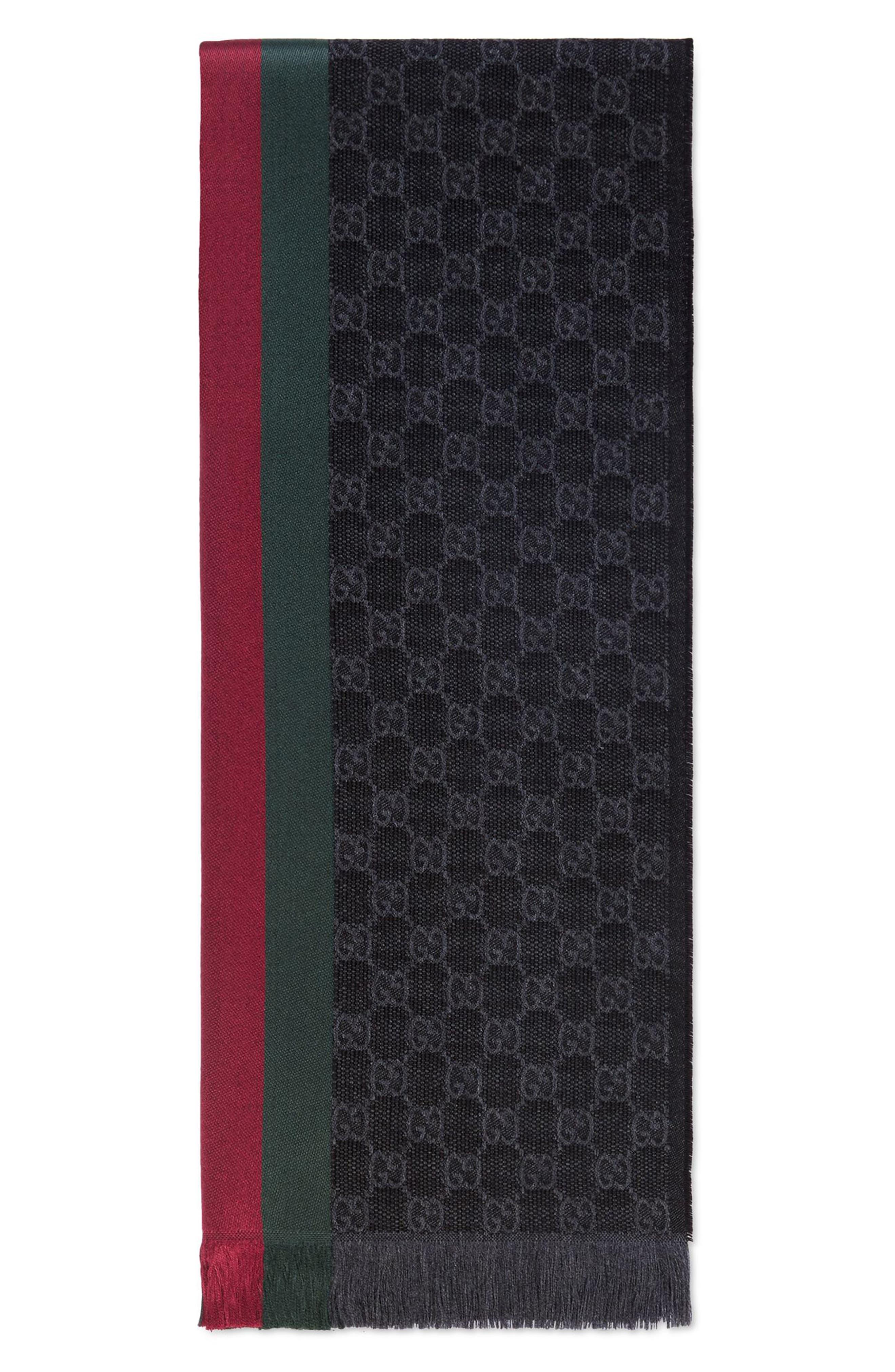 Verbier Wool & Silk Scarf,                             Main thumbnail 1, color,                             020