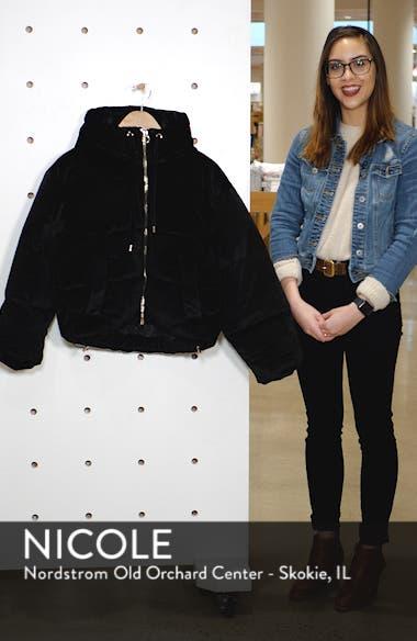 Velvet Puffer Jacket, sales video thumbnail