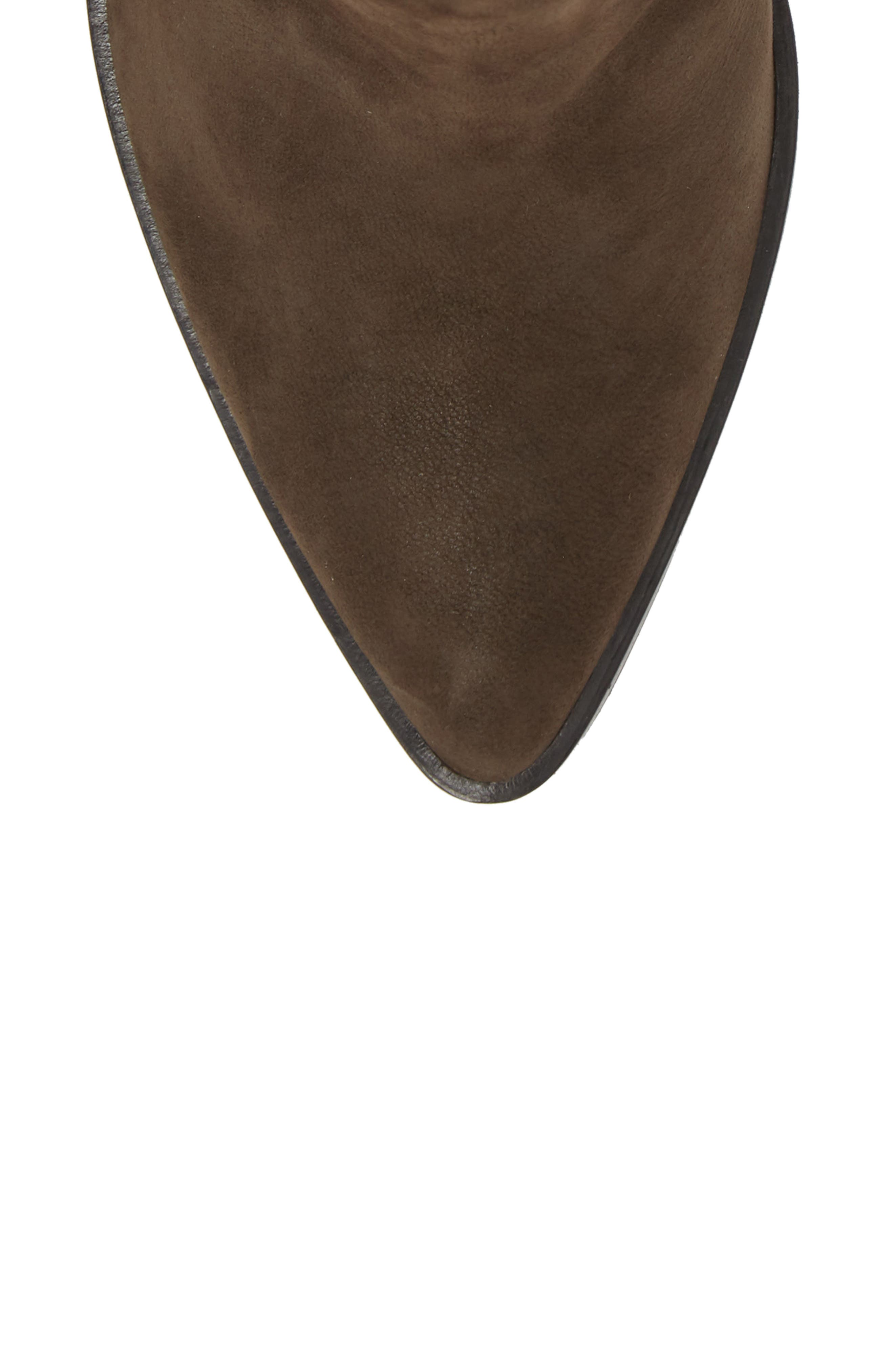 Bergen Boot,                             Alternate thumbnail 5, color,                             ANTHRACITE SUEDE